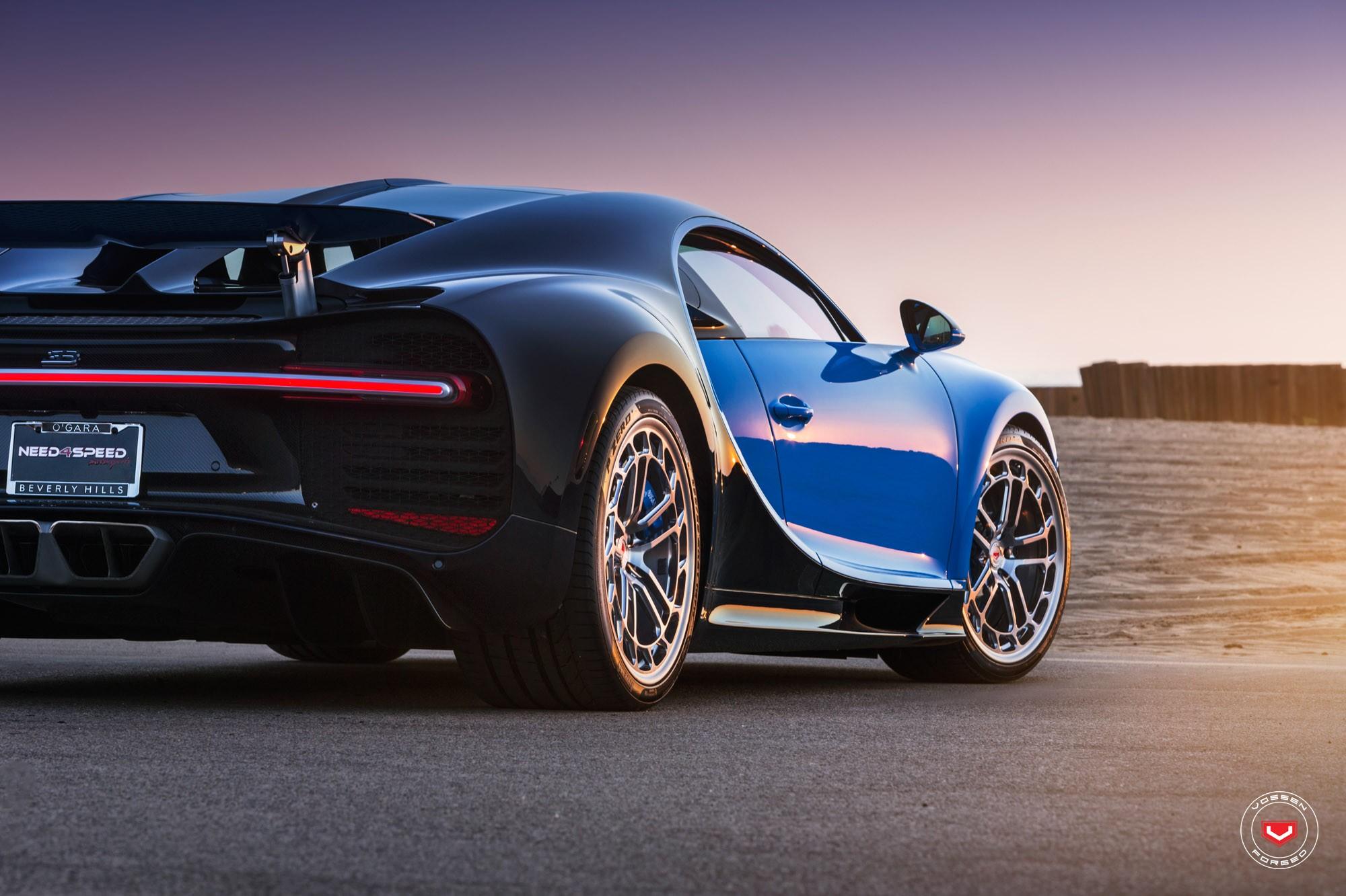 Bugatti Chiron with Vossen wheels (7)