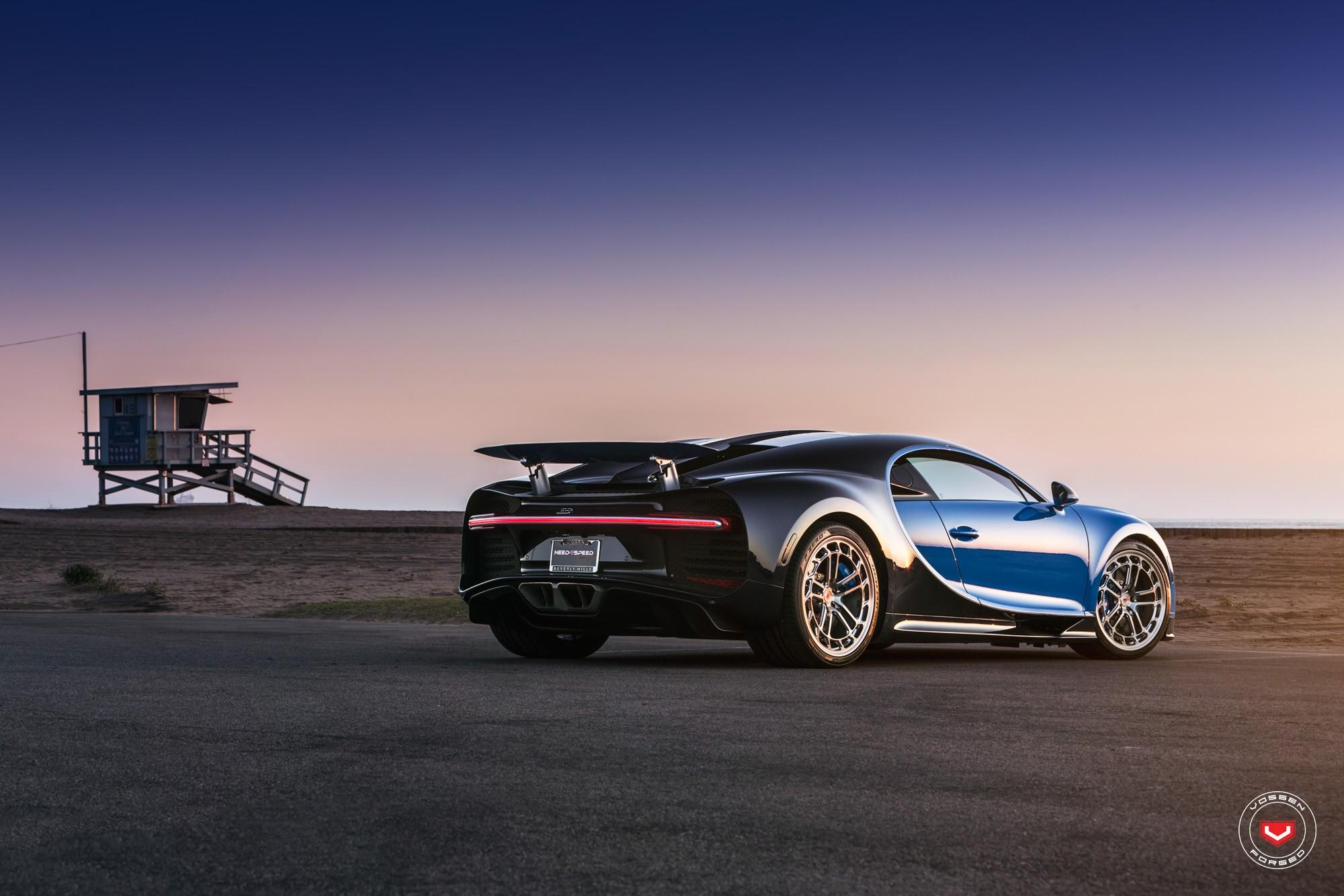 Bugatti Chiron with Vossen wheels (8)