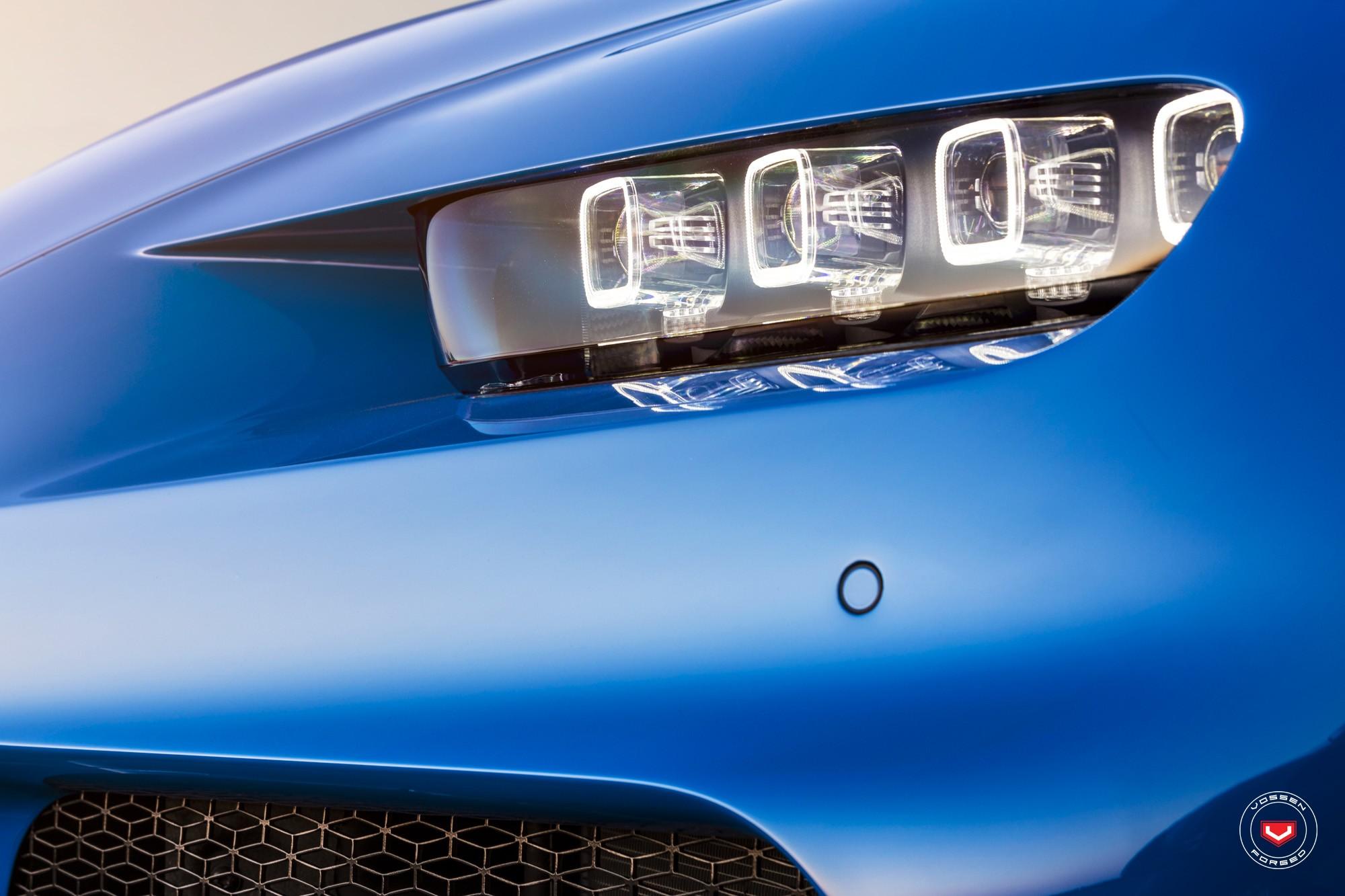 Bugatti Chiron with Vossen wheels (9)
