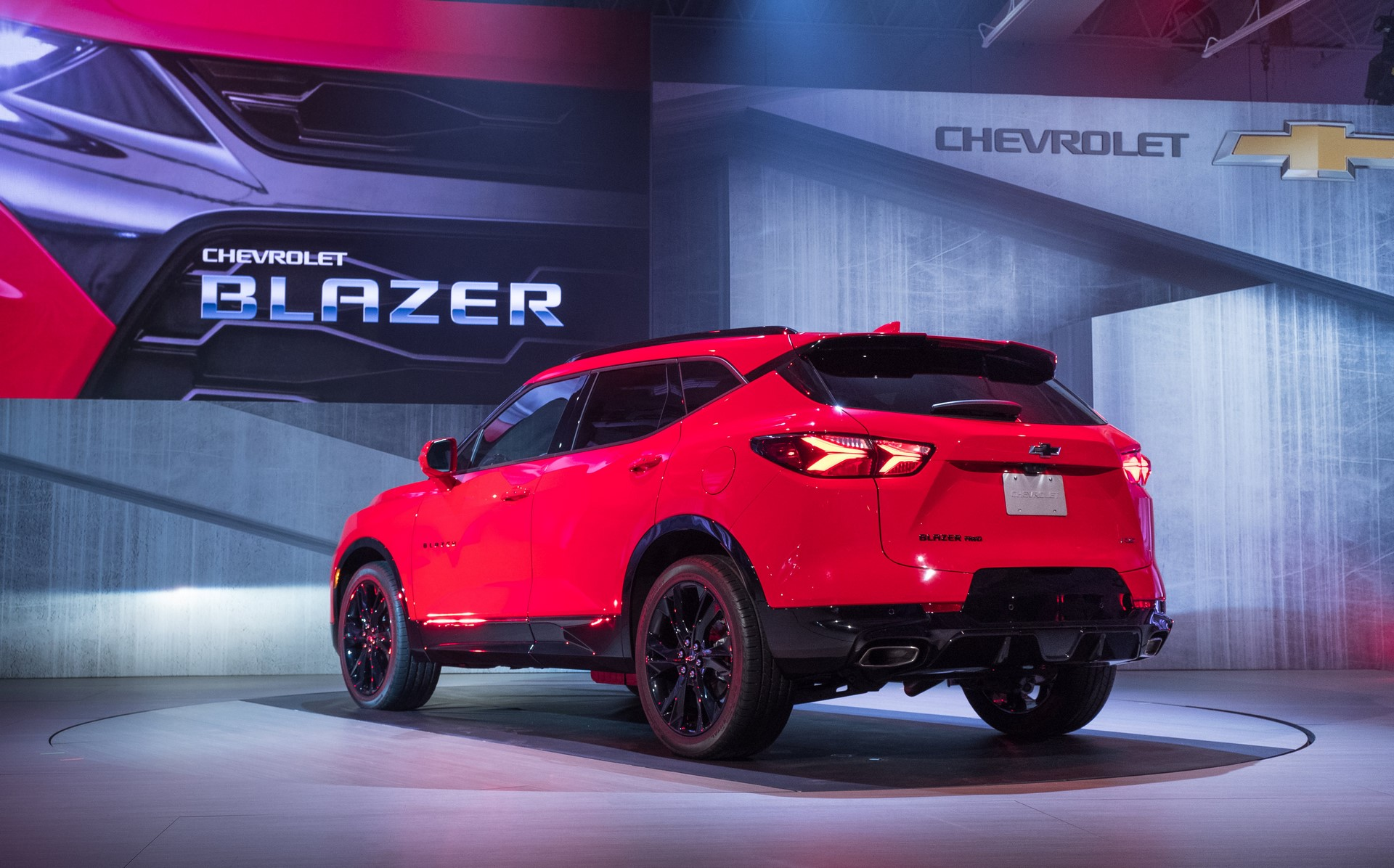 Chevrolet Unveils 2019 Blazer