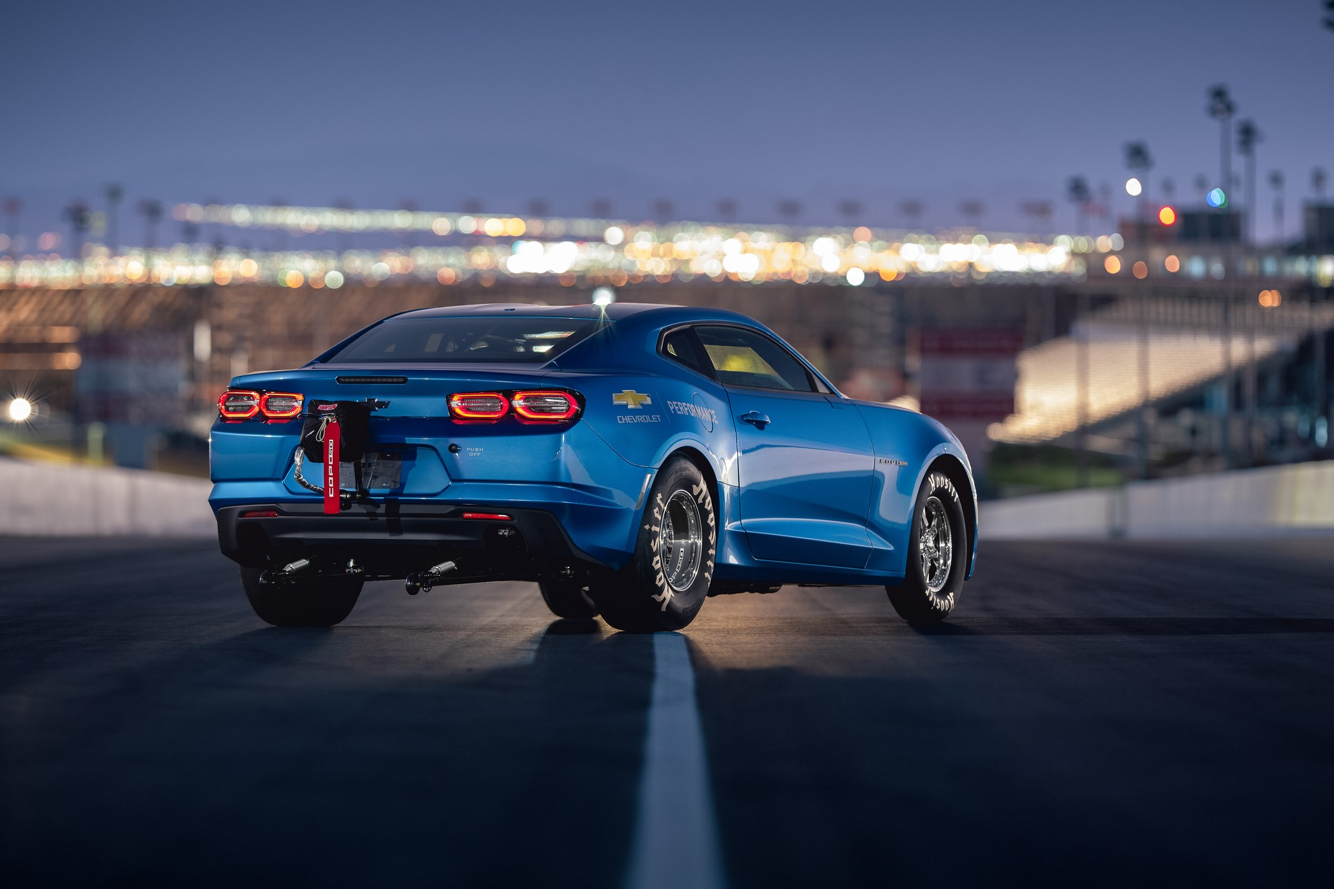 The 2019 COPO Camaro's available 50th Anniversary Special Edition package marks a half-century of special-order high-performance from Chevrolet.