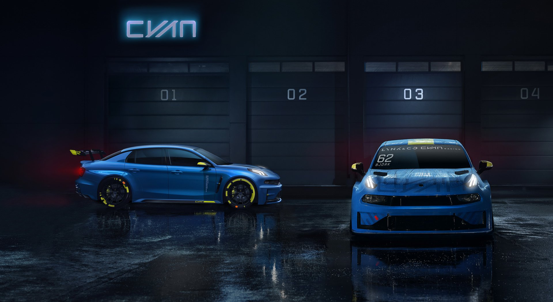 Cyan Racing Lynk Co 03 TCR 2019 (4)