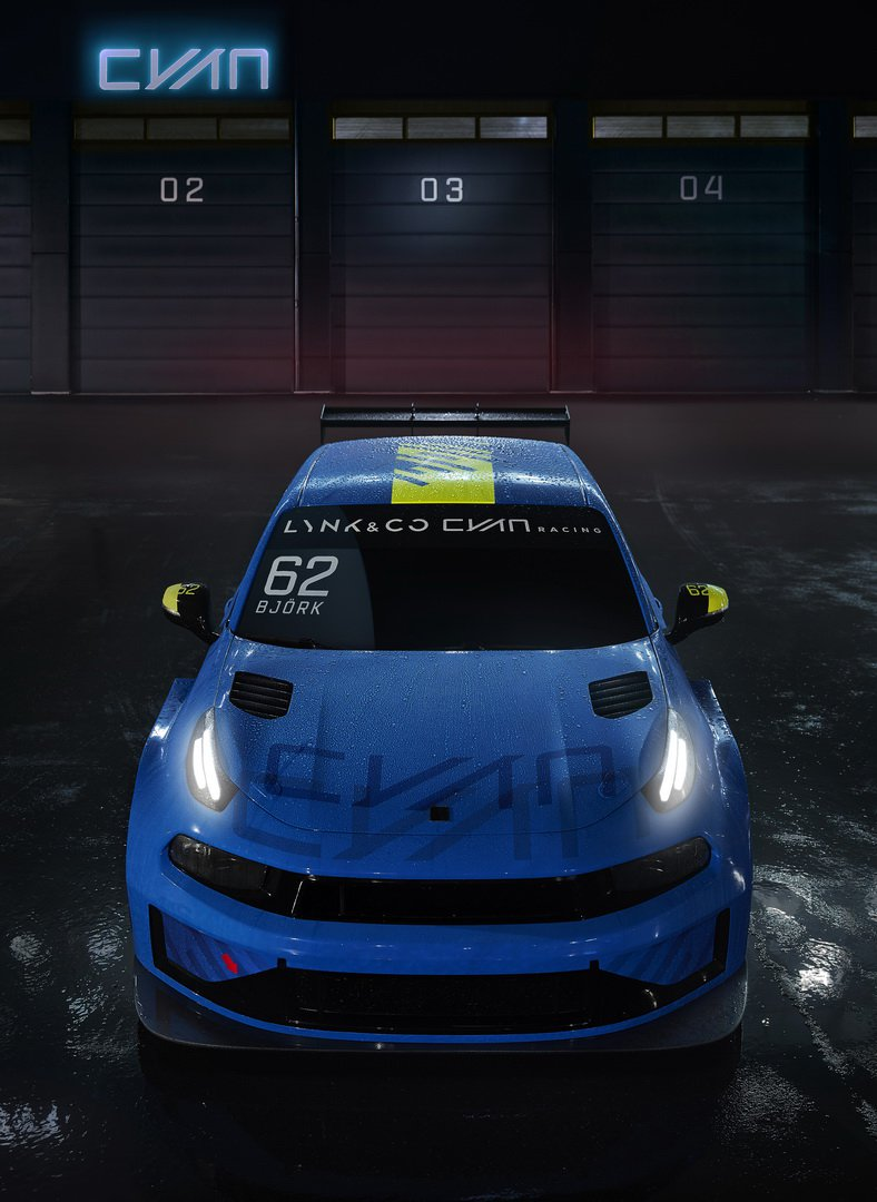 Cyan Racing Lynk Co 03 TCR 2019 (5)