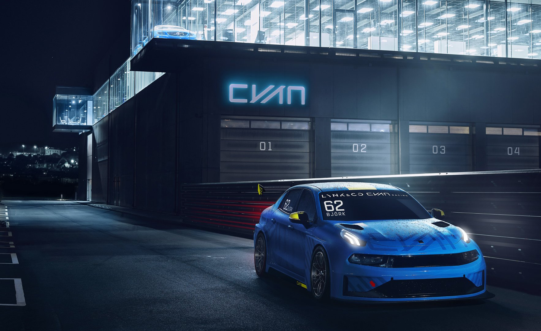 Cyan Racing Lynk Co 03 TCR 2019 (6)