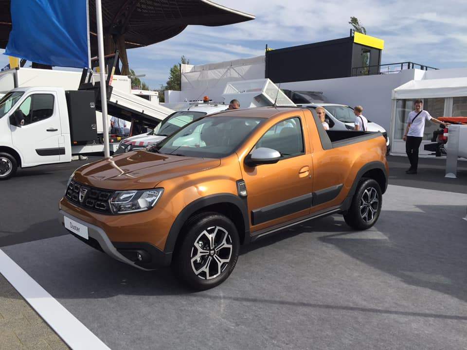 Dacia Duster Pickup (1)
