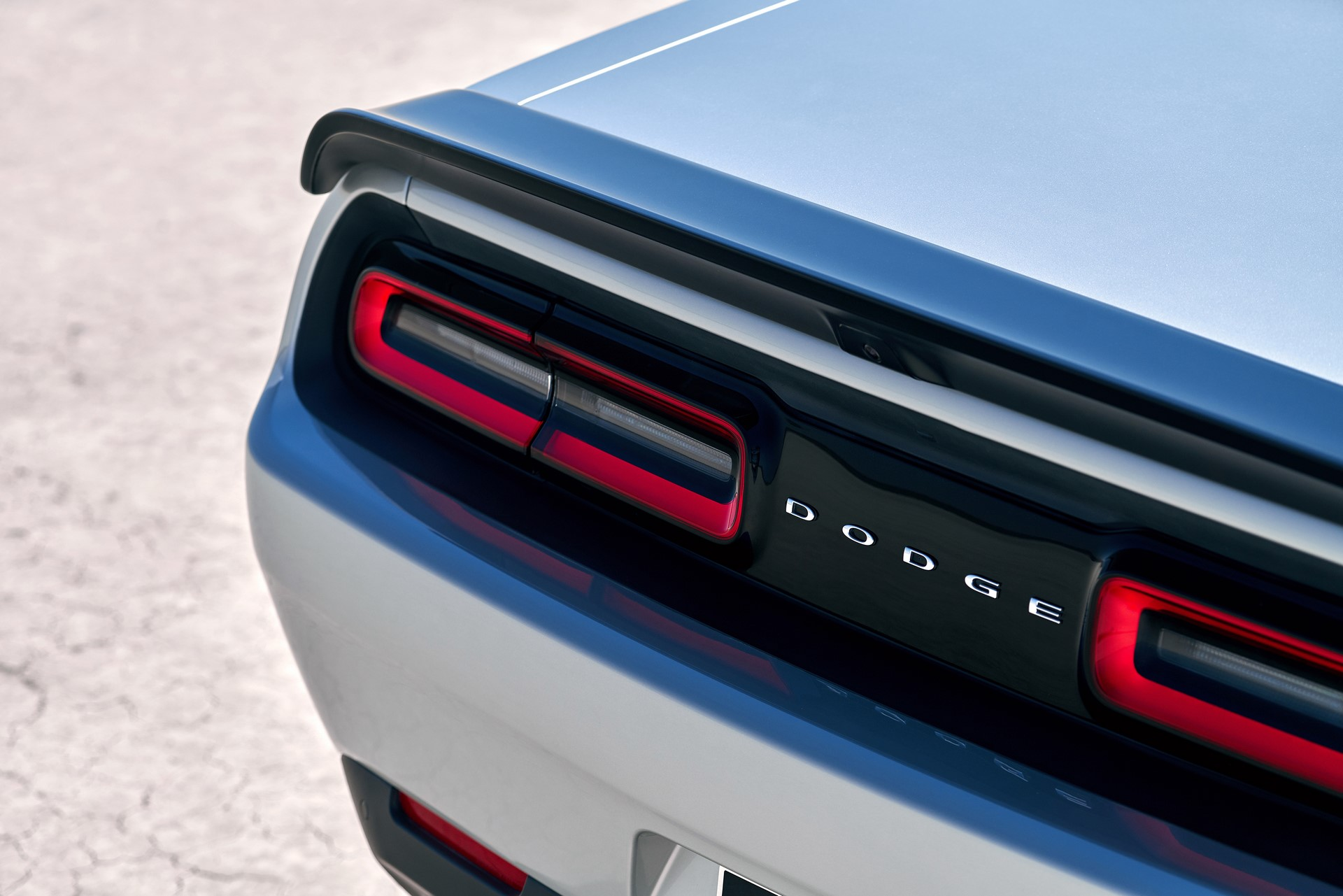 Available new spoiler offers a more expressive look with its increased width on 2019 Dodge Challenger SRT Hellcat Redeye Widebody