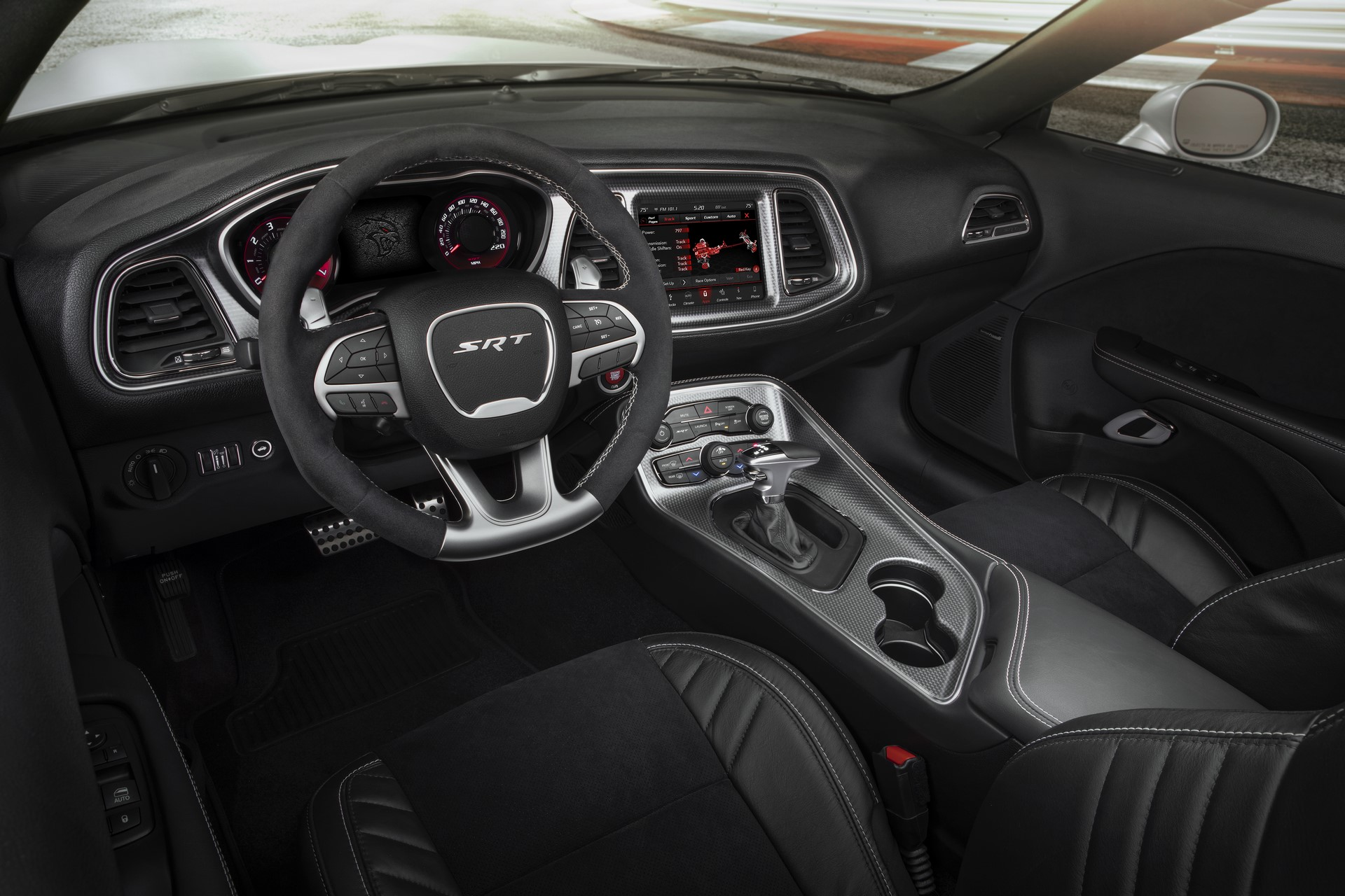 2019 Dodge Challenger SRT Hellcat Redeye Widebody - interior
