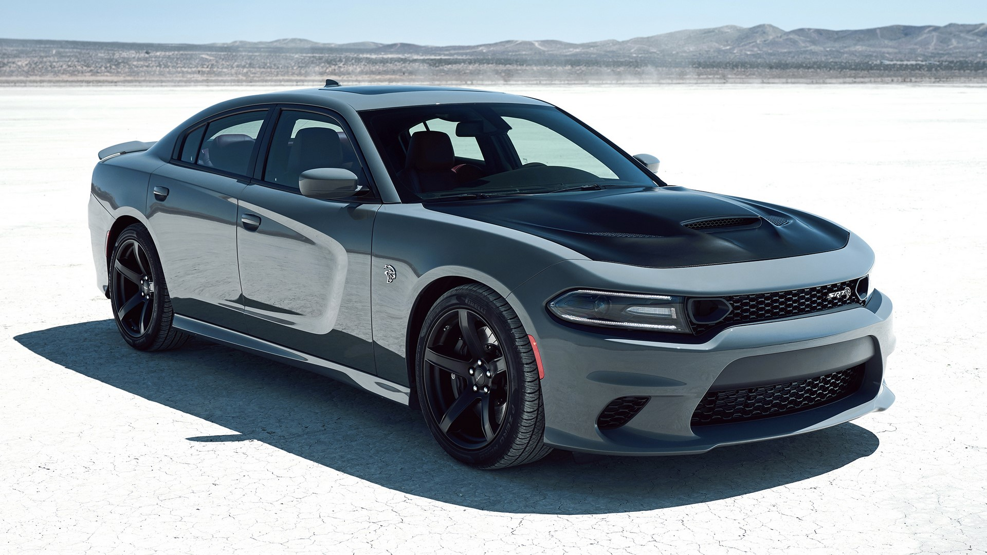 2019 Dodge Charger SRT Hellcat with newly available Satin Black painted hood