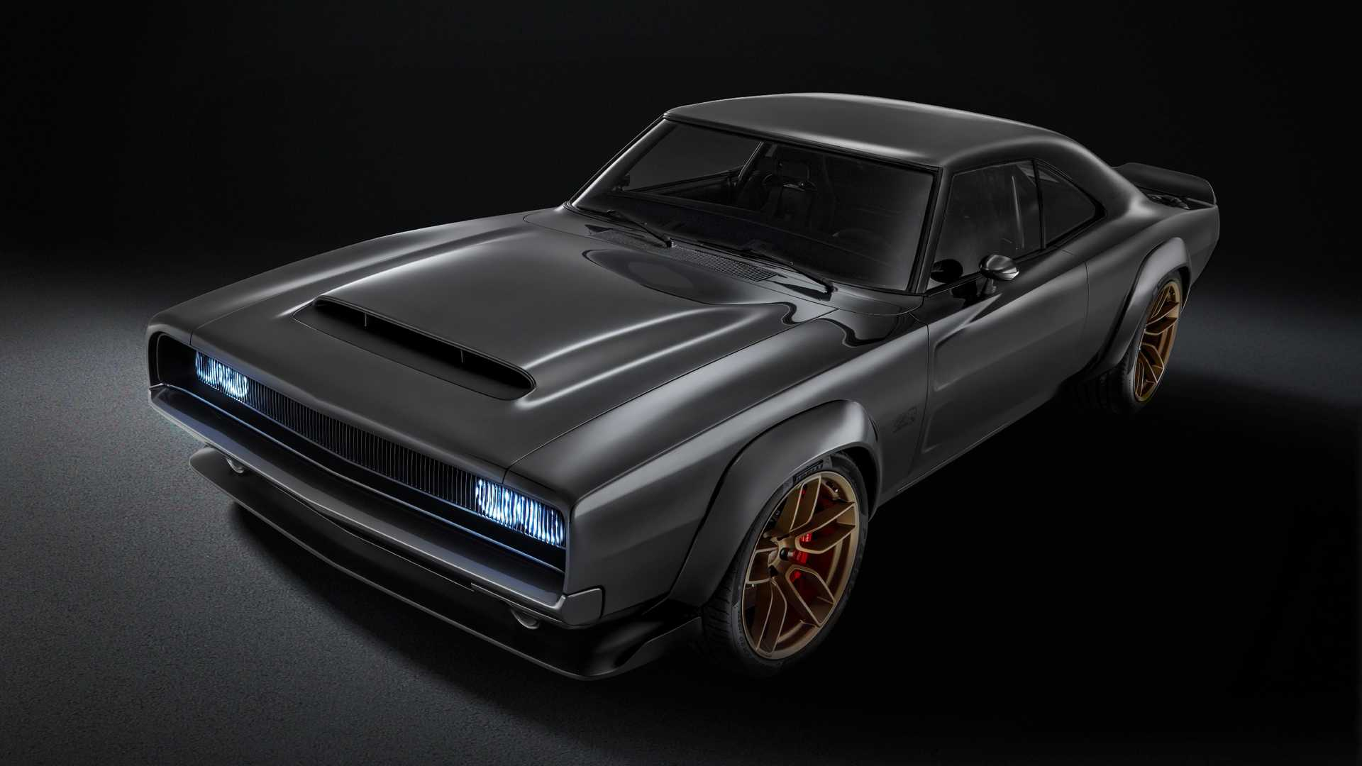 Dodge Super Charger Concept with Hellephant Crate Engine (1)