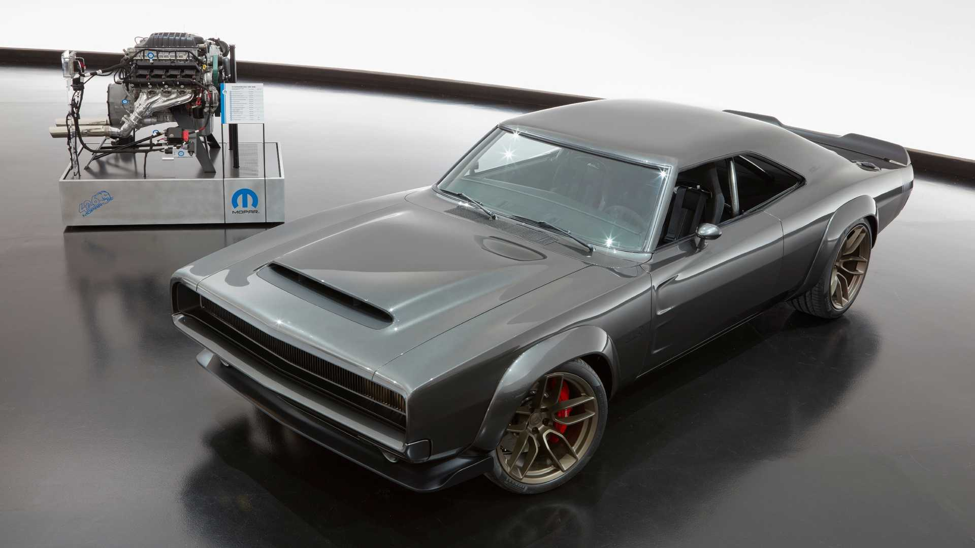 Dodge Super Charger Concept with Hellephant Crate Engine (10)