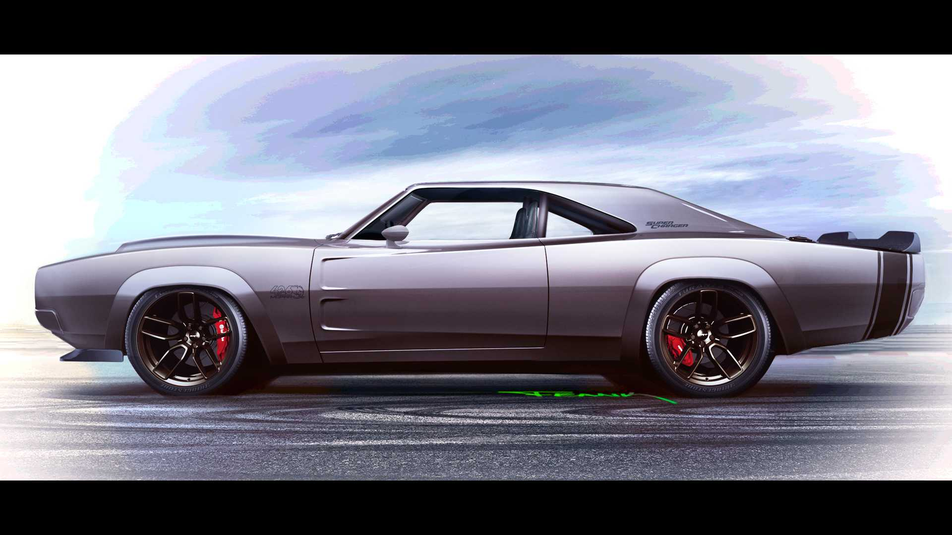 Dodge Super Charger Concept with Hellephant Crate Engine (12)