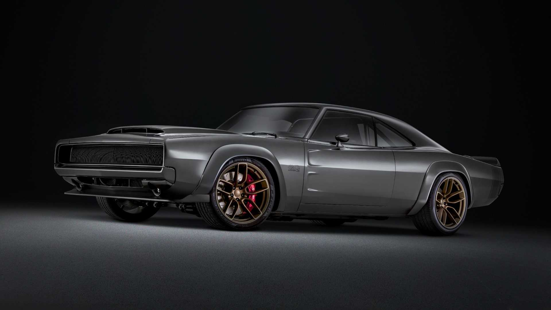 Dodge Super Charger Concept with Hellephant Crate Engine (4)