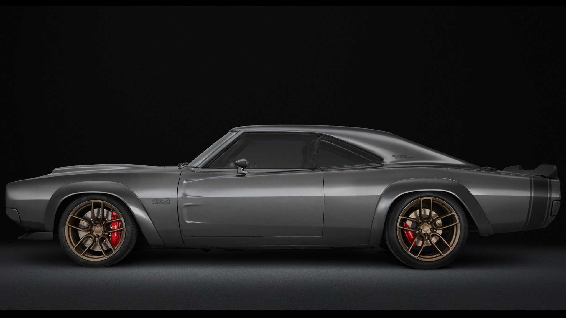Dodge Super Charger Concept with Hellephant Crate Engine (9)