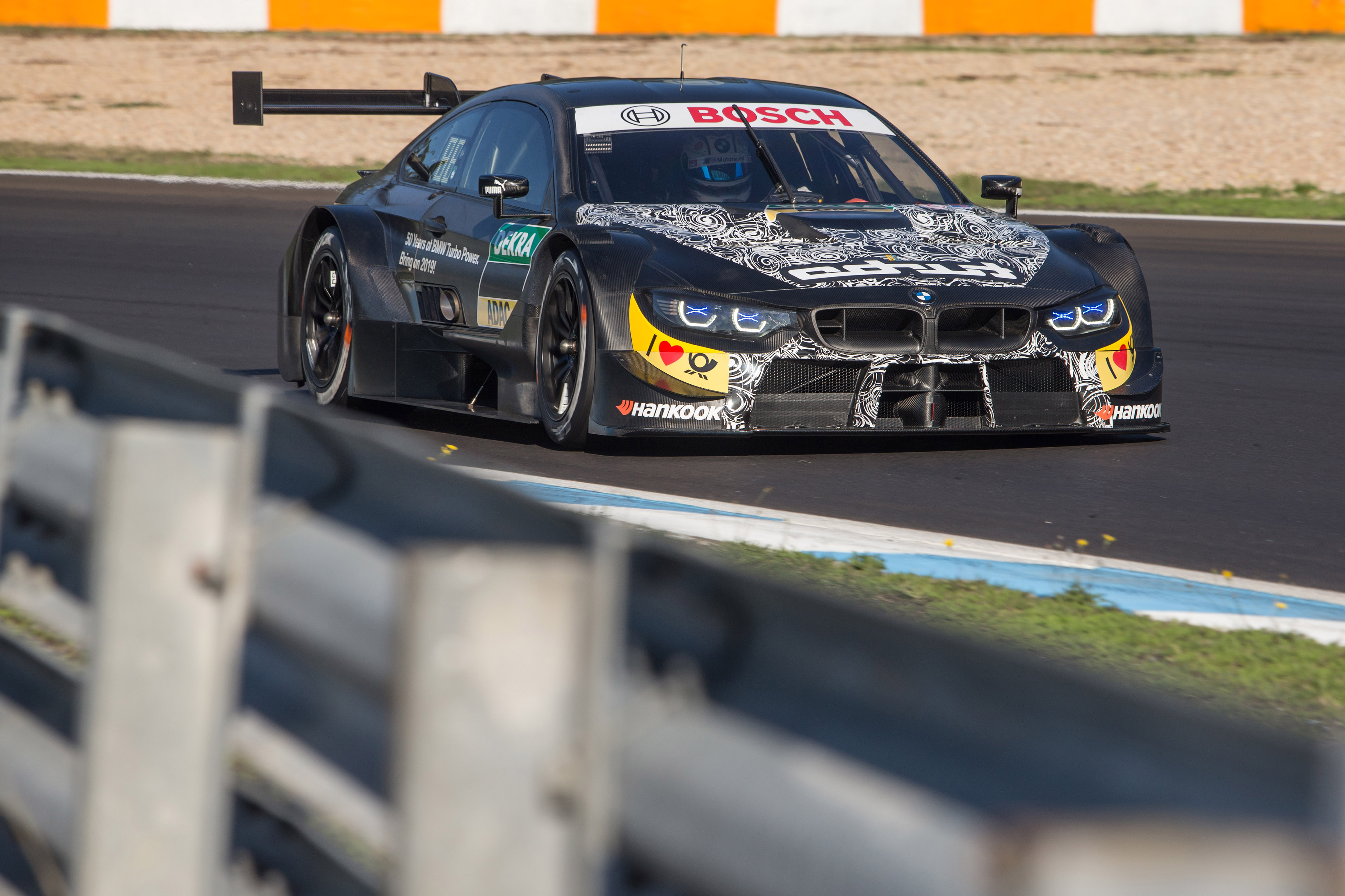 Estoril (Por) 12. November 2018. BMW M Motorsport, Testing Marco Wittmann (D) BMW M4 DTM.