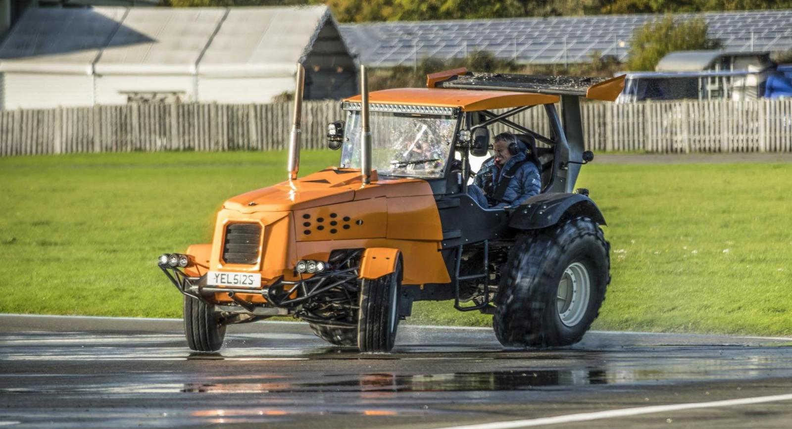 Fastest tractor in the world TopGear The Stig (2)