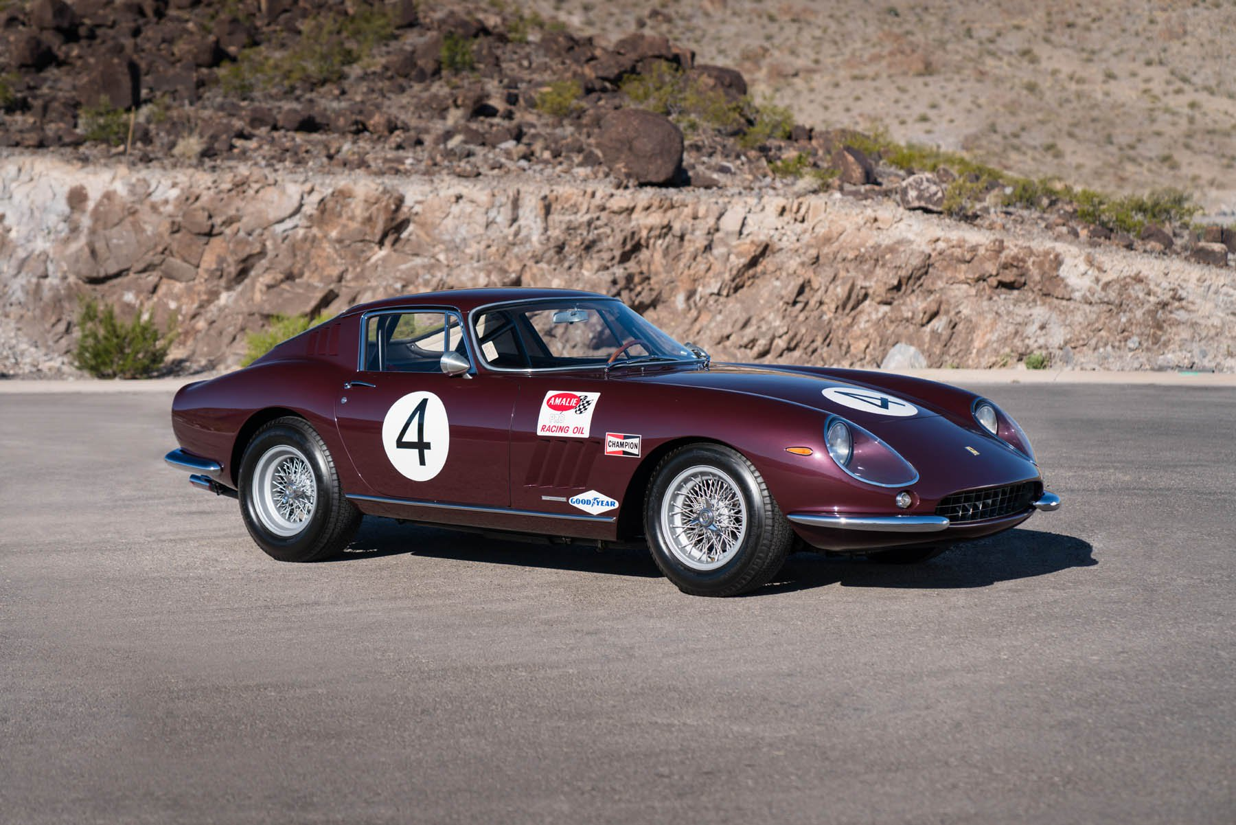 Ferrari 275 GTBC 1966 auction (2)