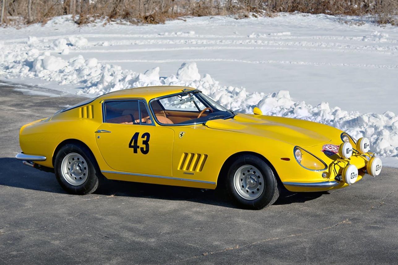Ferrari 275 GTB prototype 1964 auction (1)