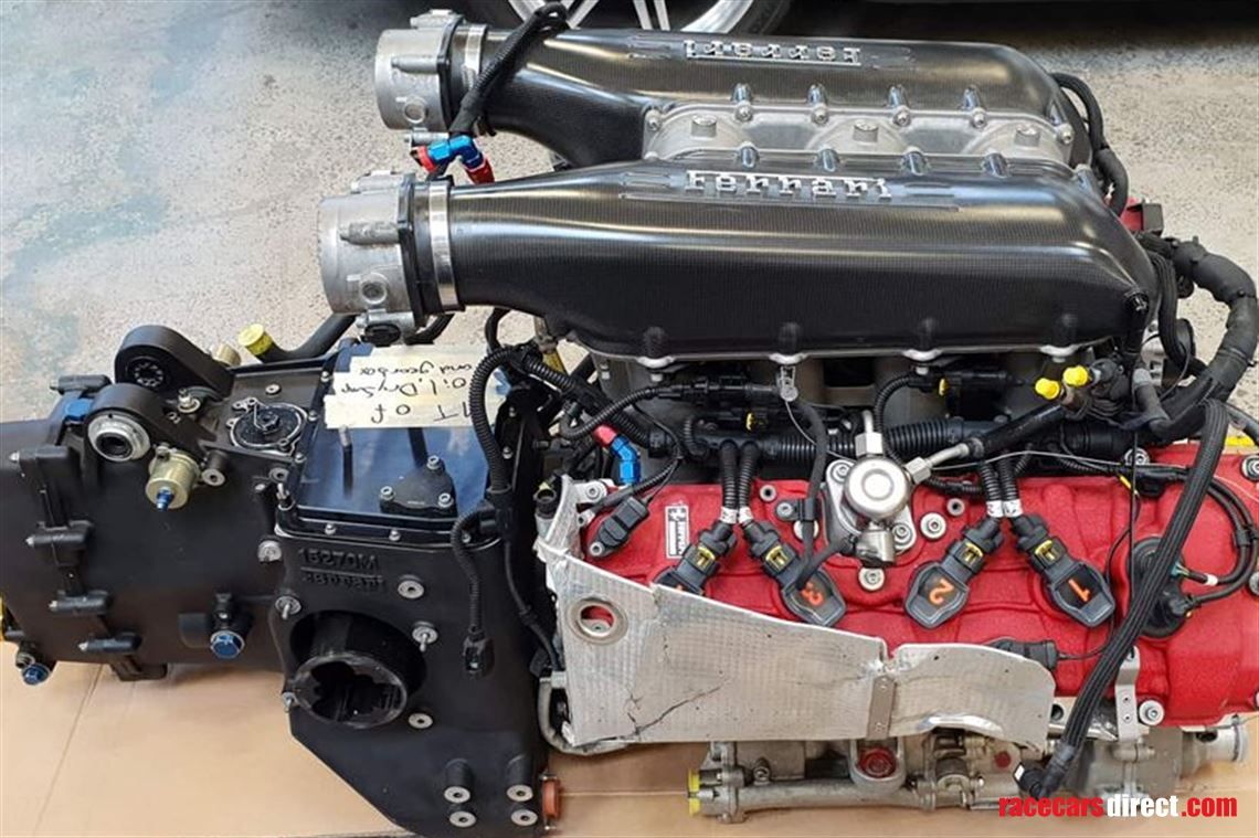 Ferrari 458 Italia GT3 engine for sale (1)