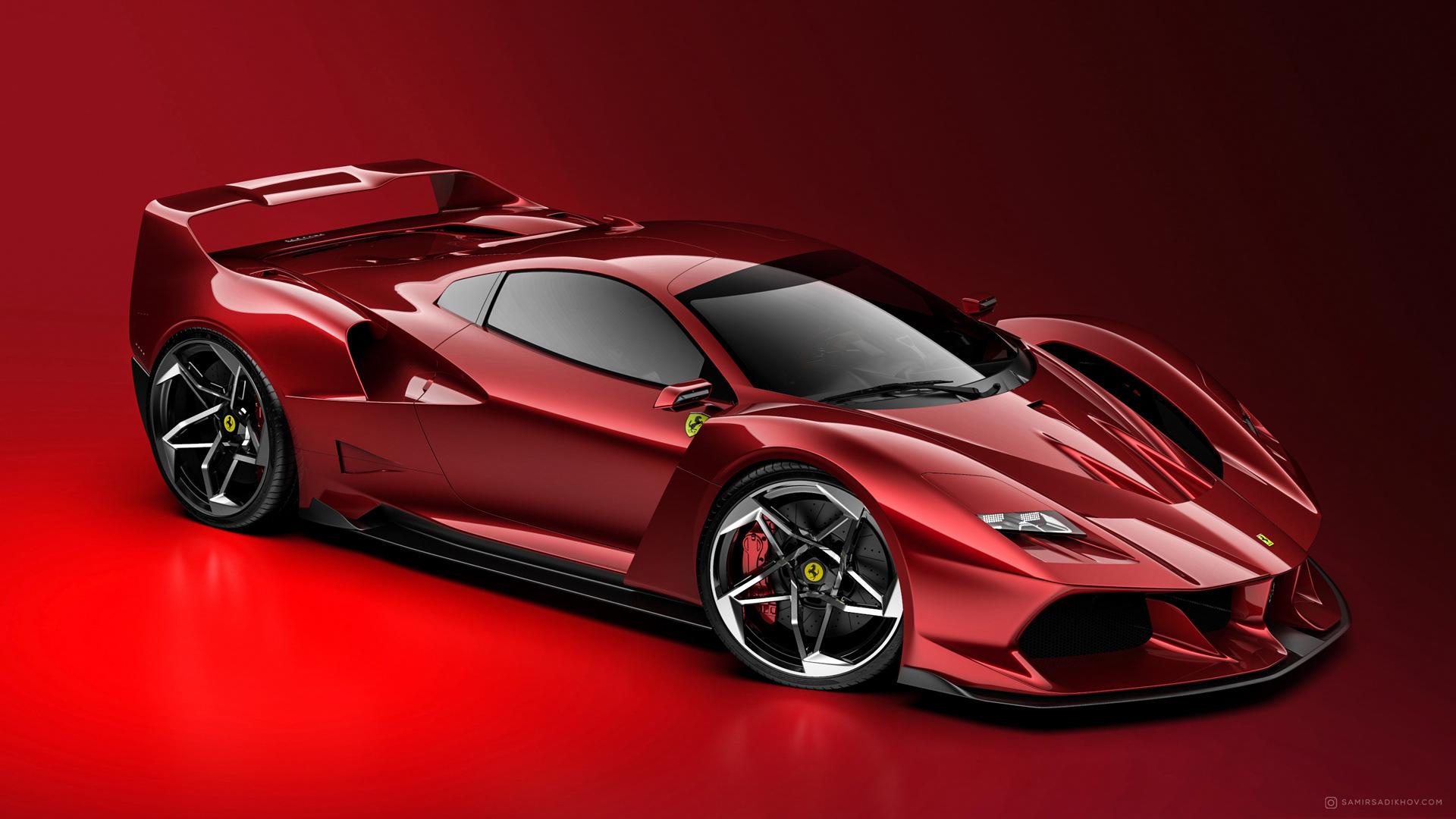 Ferrari F40 Tribute (1)