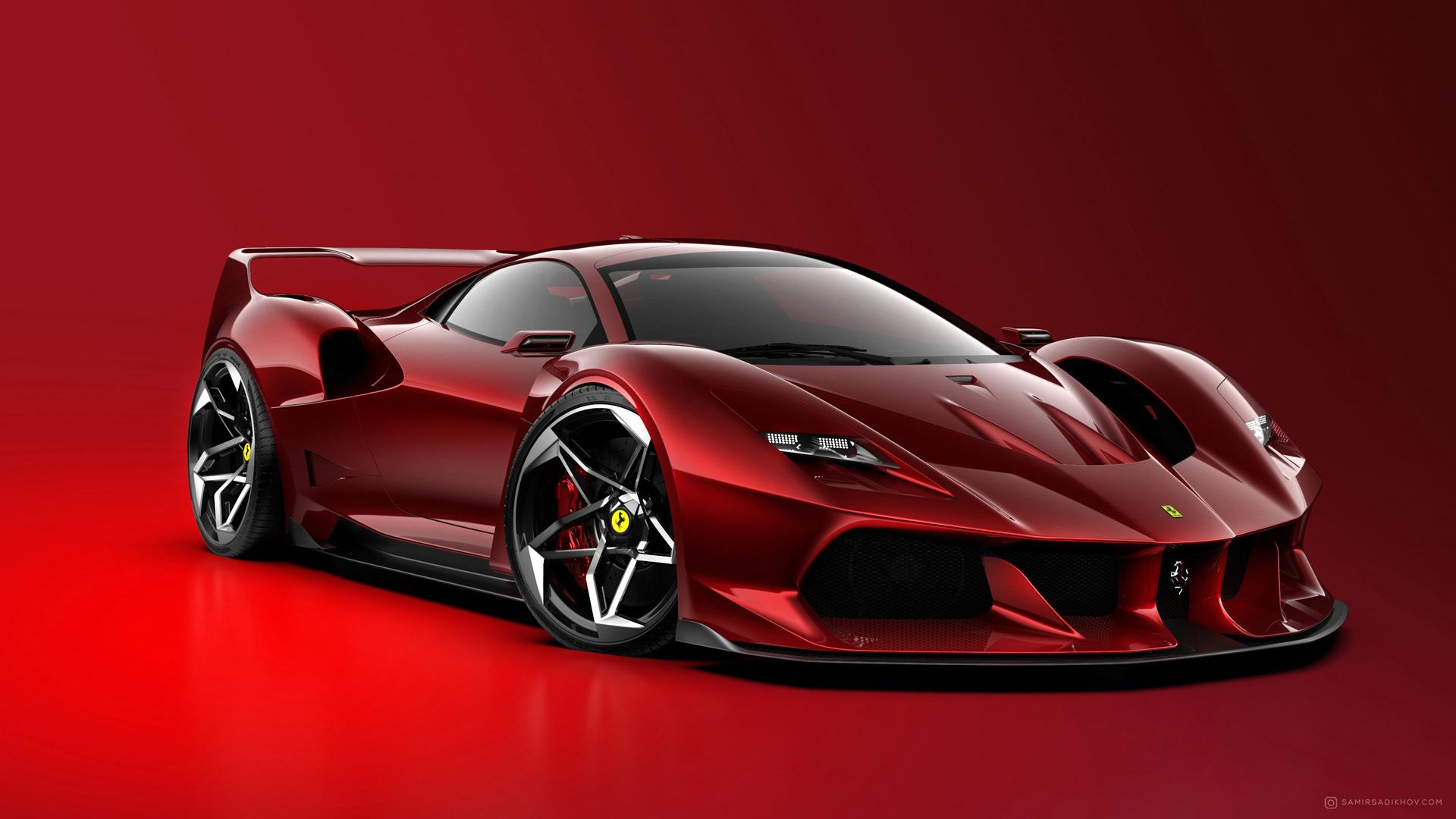 Ferrari F40 Tribute (2)