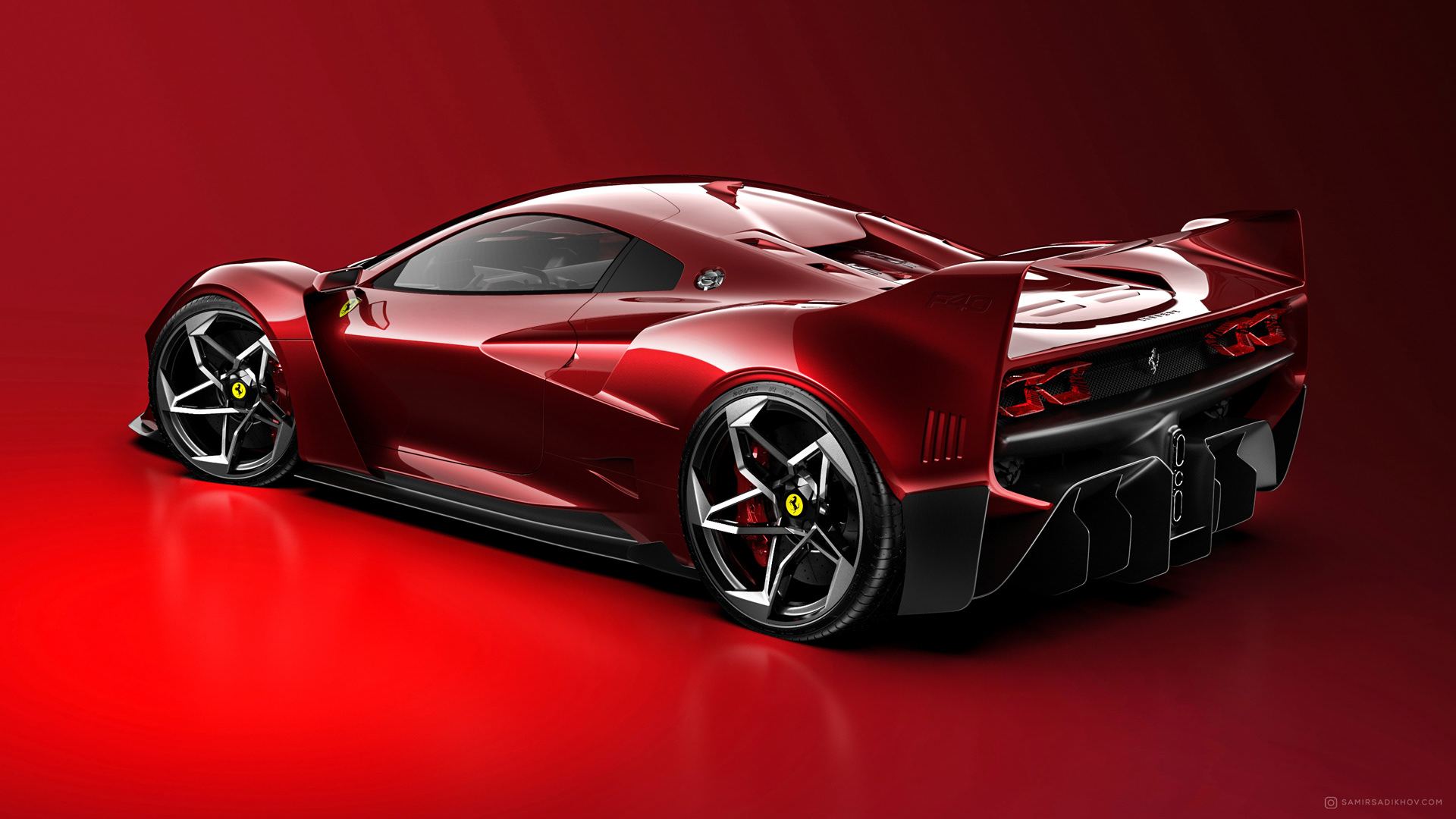 Ferrari F40 Tribute (3)