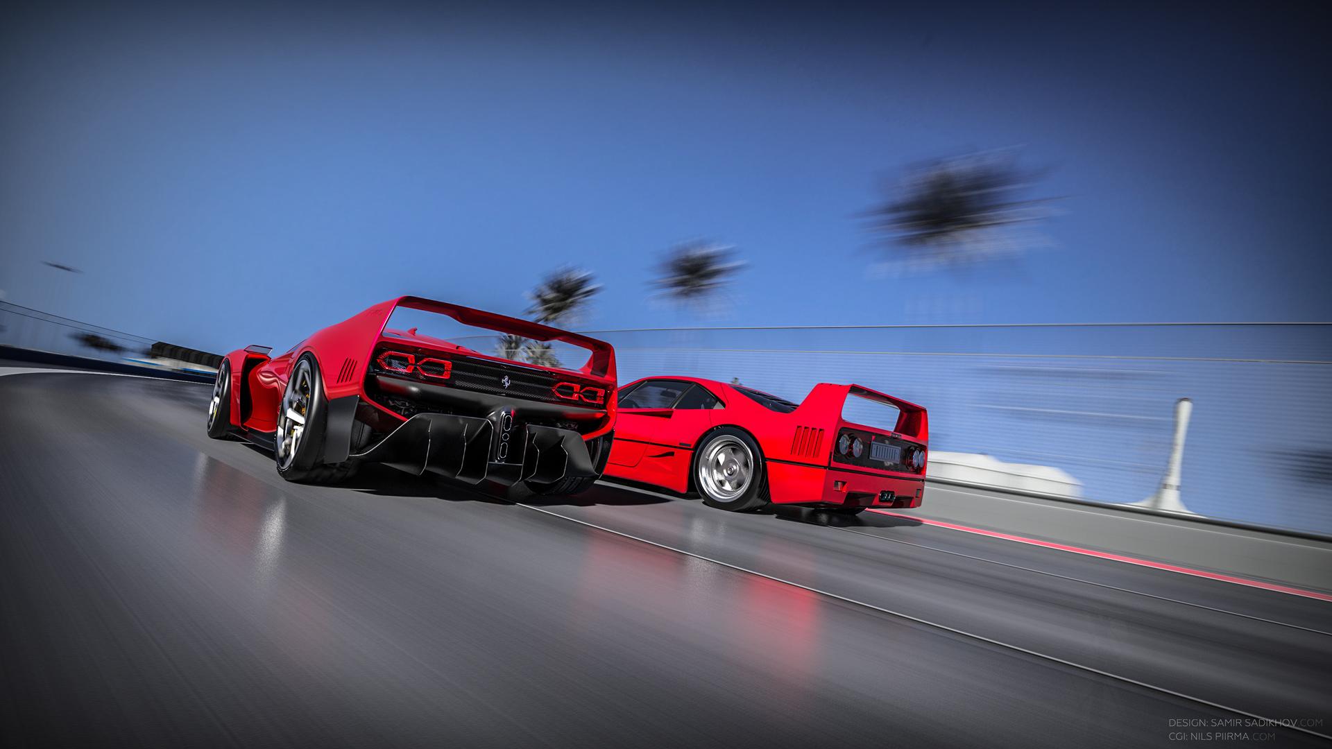 Ferrari F40 Tribute (7)