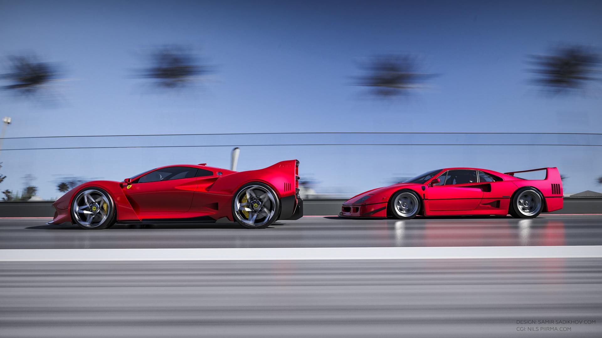 Ferrari F40 Tribute (8)