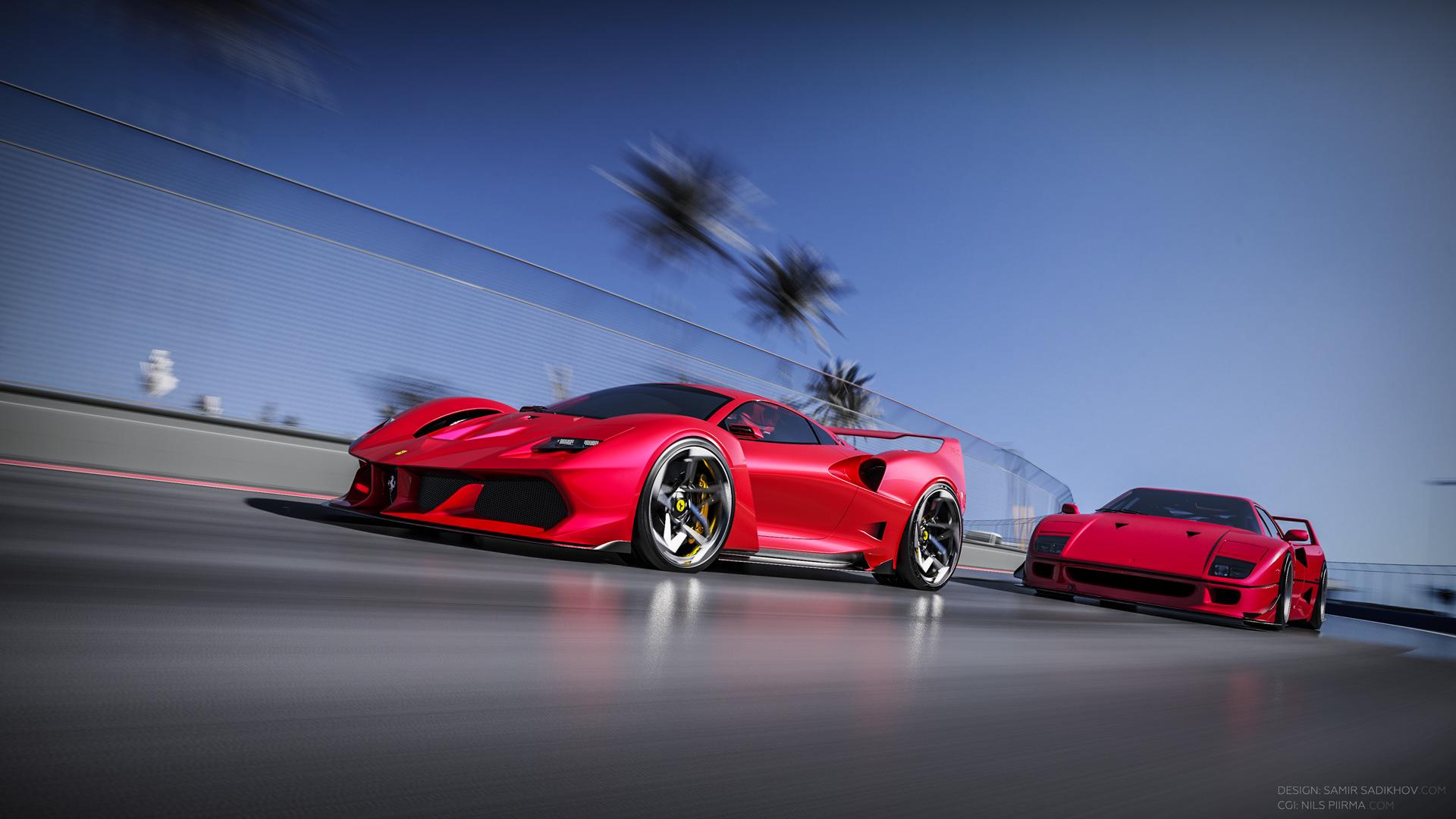 Ferrari F40 Tribute (9)