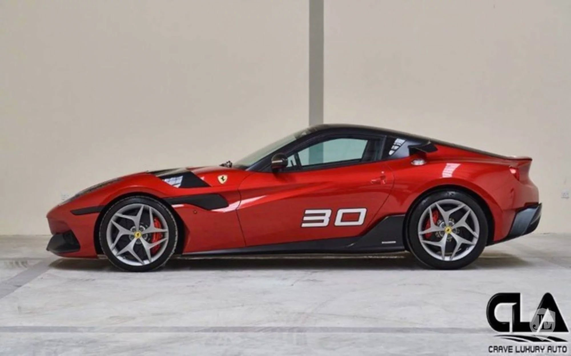 Ferrari SP30 one-off for sale (2)