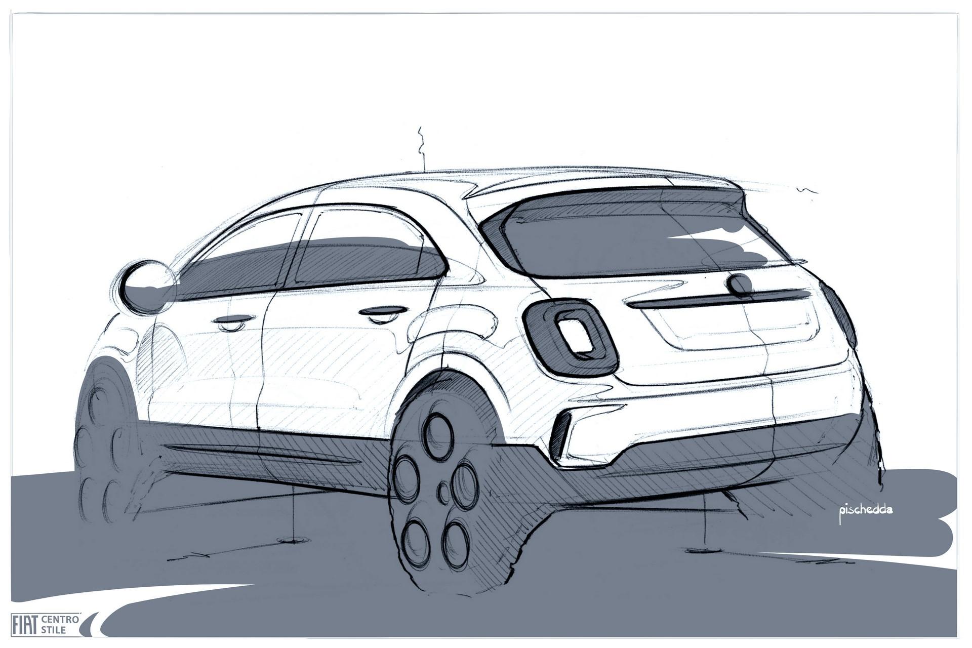 180828_Fiat_New-500X-sketch_02