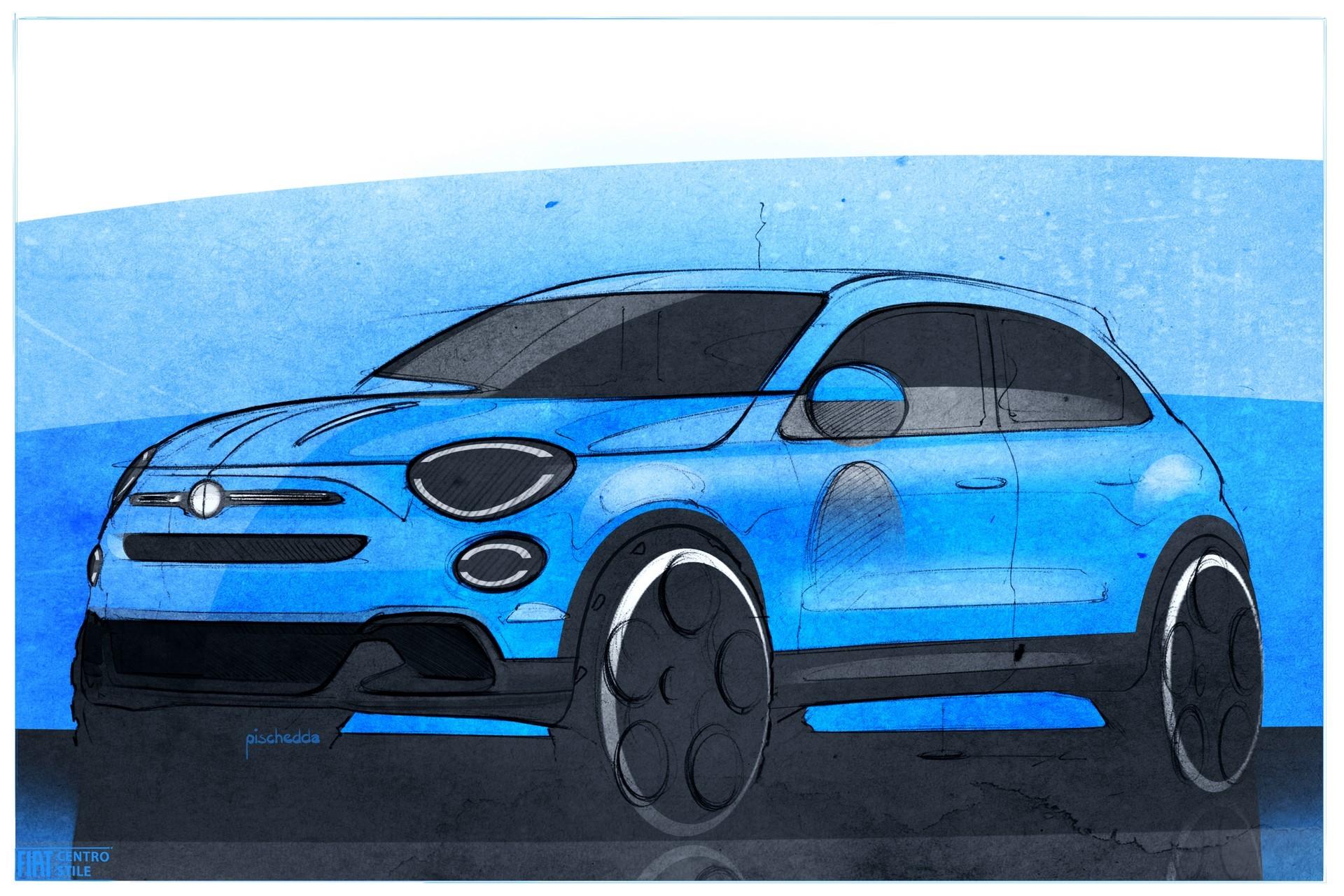 180828_Fiat_New-500X-sketch_03