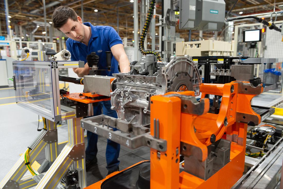 04 Ford Bridgend - all-new 1.5L 3Cylinder engine line
