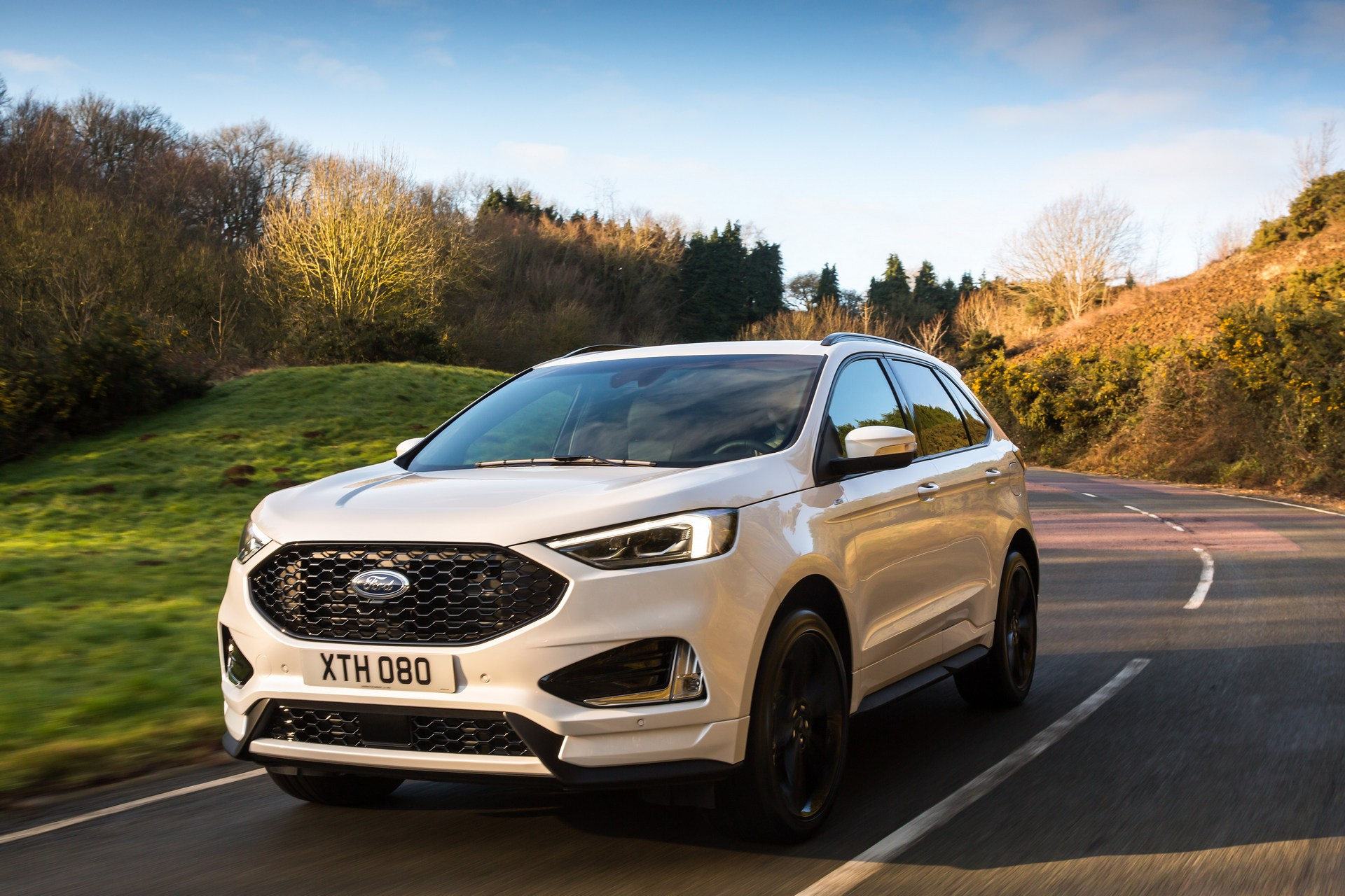 Ford Edge facelift 2018 Euro-Spec (1)
