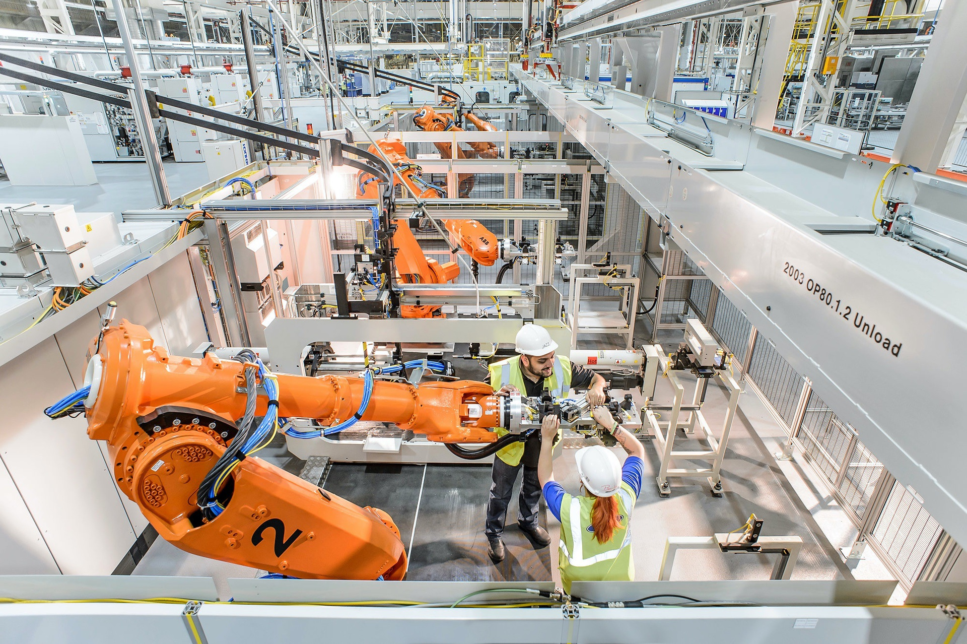 Dagenham Engine Plant is Ford's largest diesel engine production facility globally