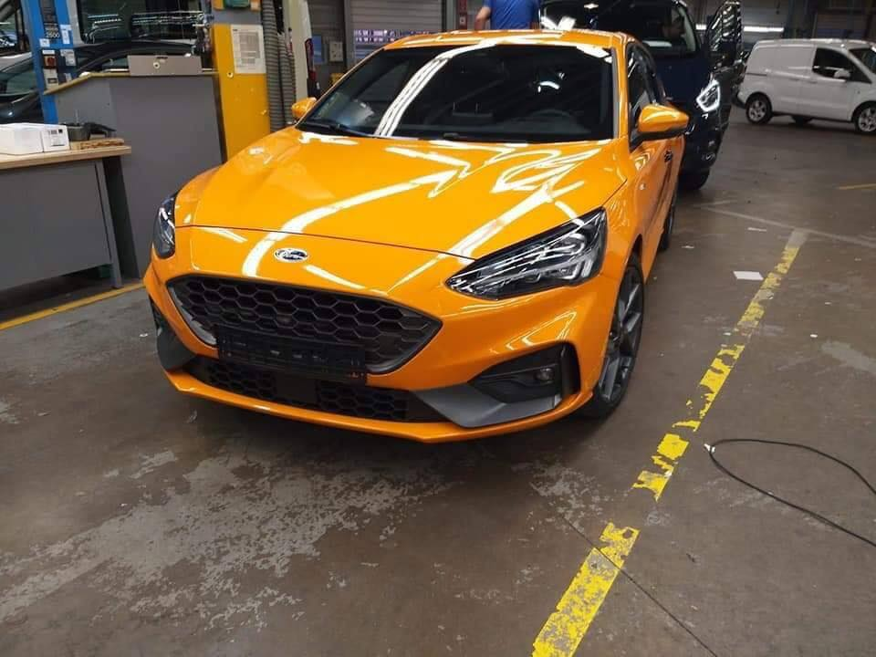 Ford Focus ST 2019 first photos (1)