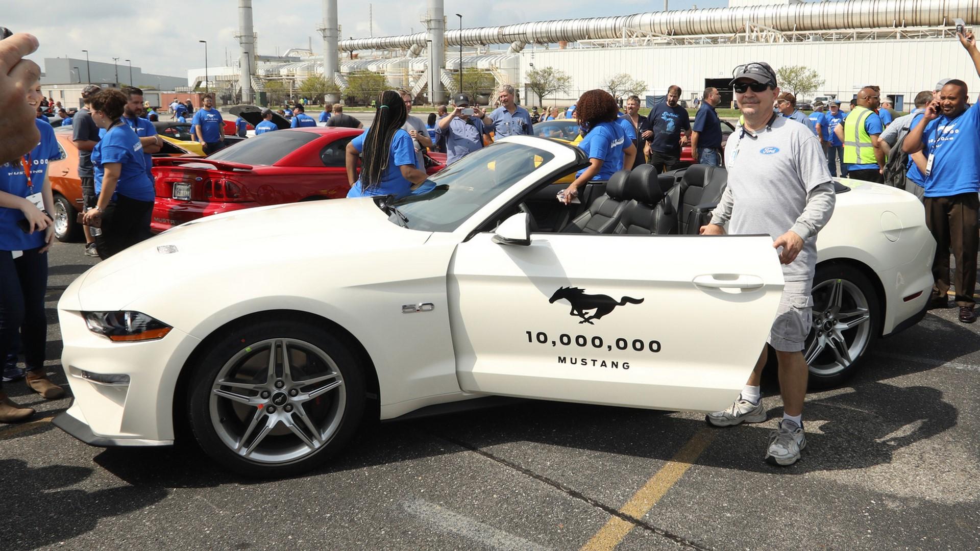 10 Millionth Mustang Celebration