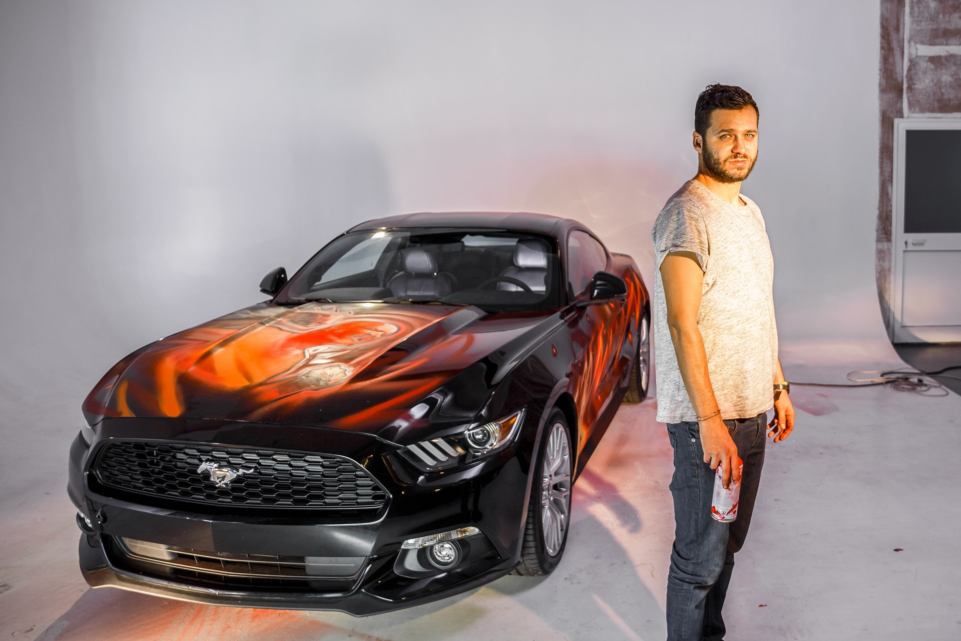 Ford Mustang Comes Back to Life as Comic Strip on Wheels