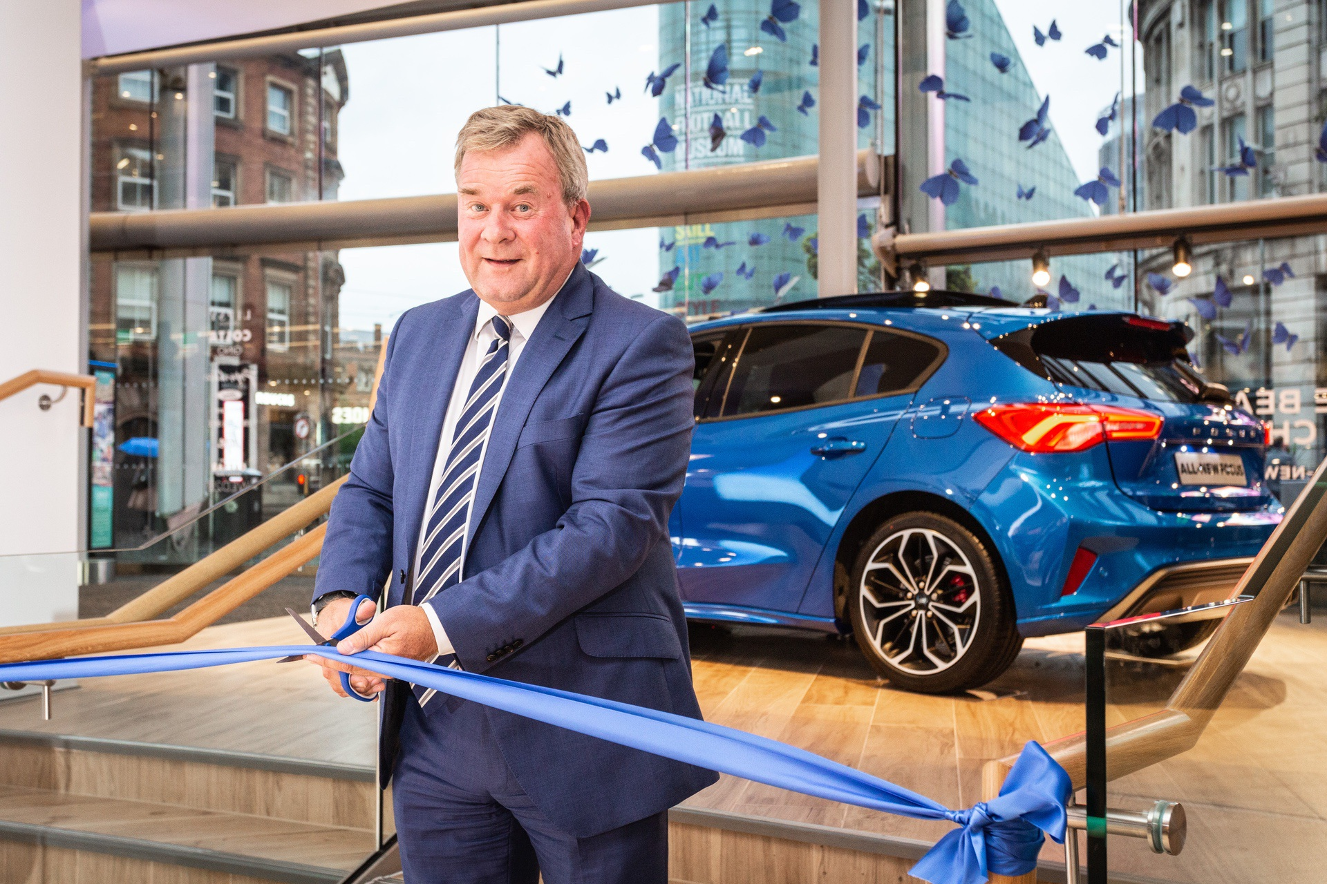 Kevin Griffin - Ford of Britain sales director