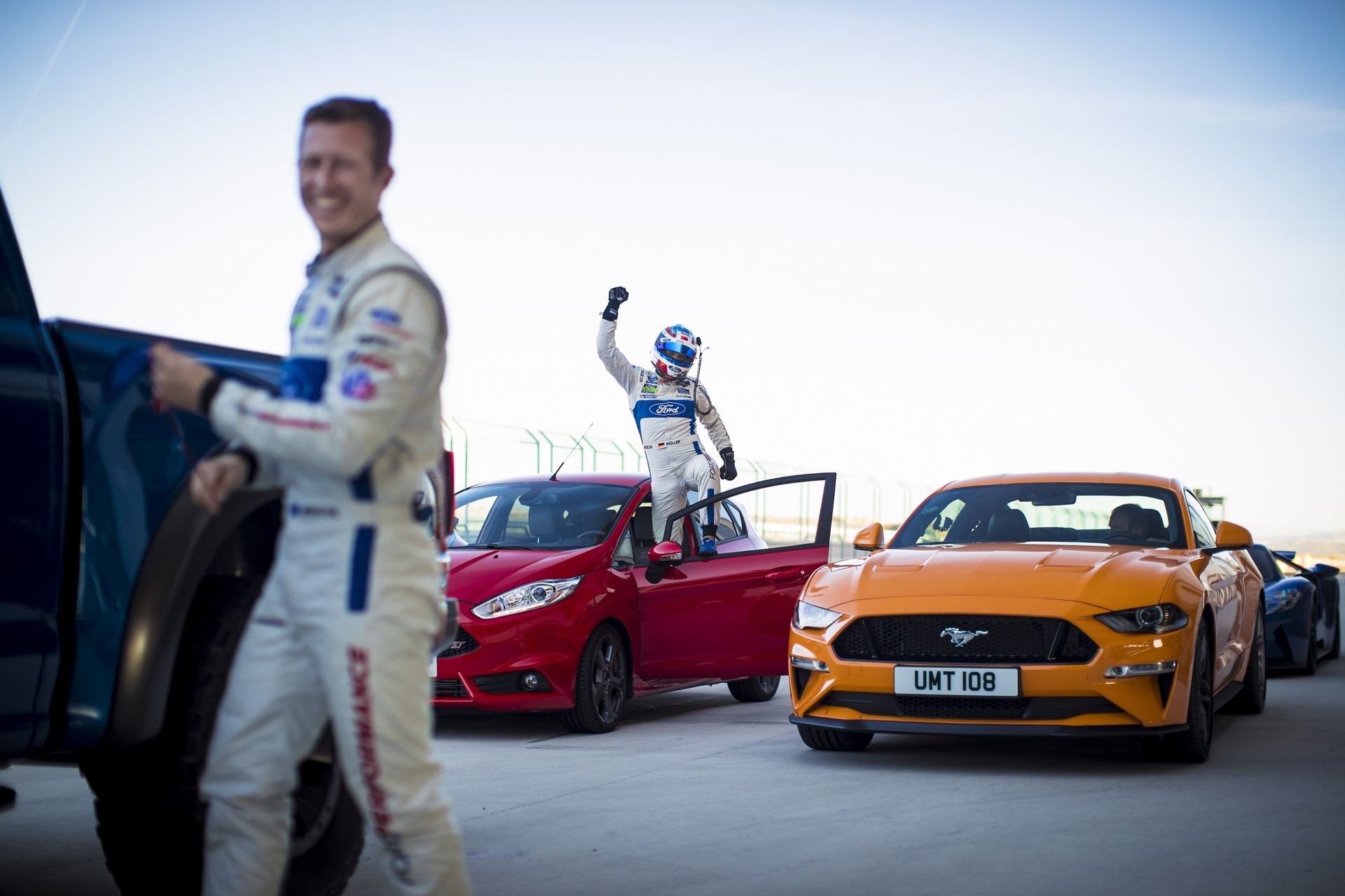 Eight Ford Performance Models + Eight Ford GT Race Drivers = One Epic Track Showdown!