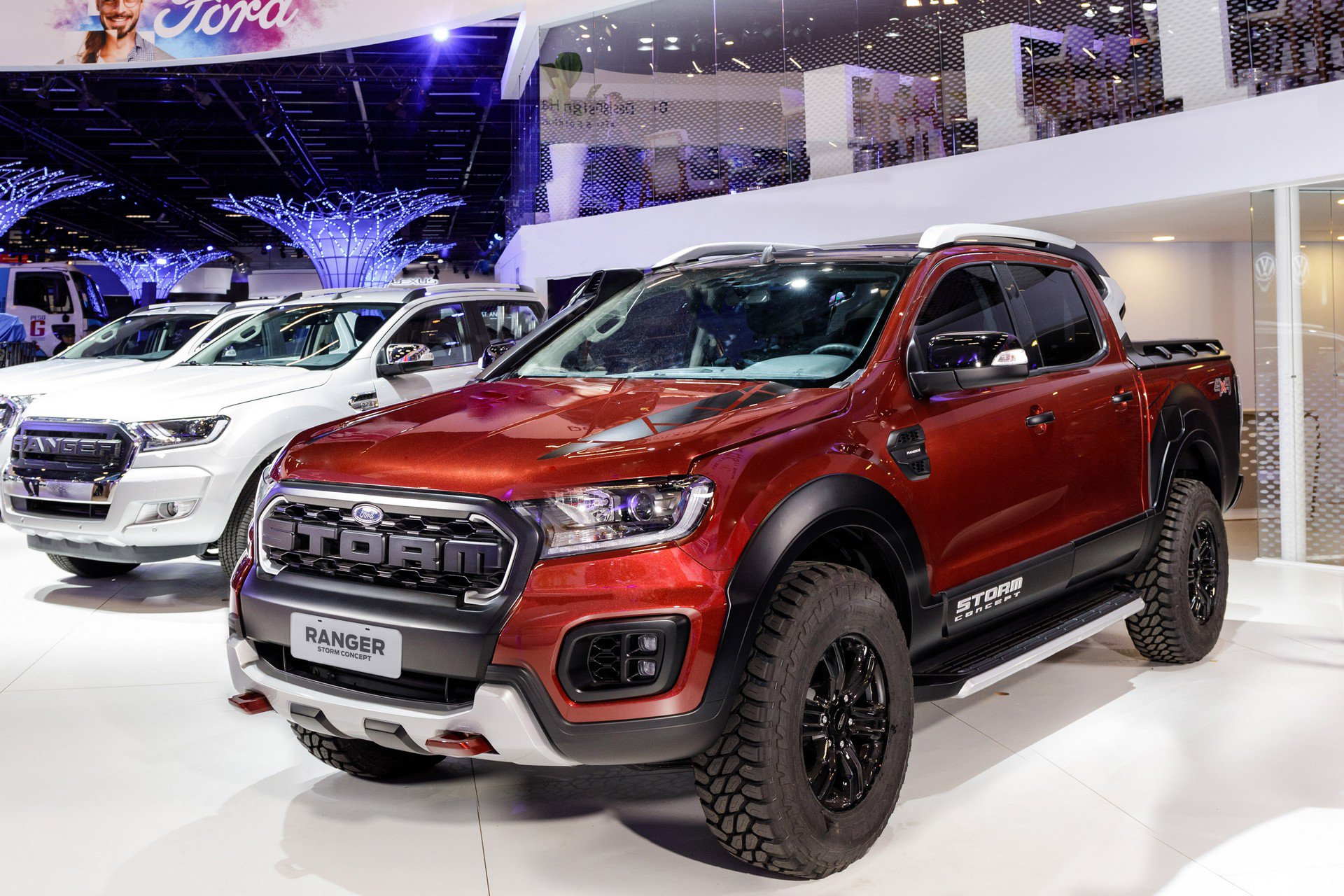 Ford Ranger Storm Concept and Ka Urban Warrior Concept (1)
