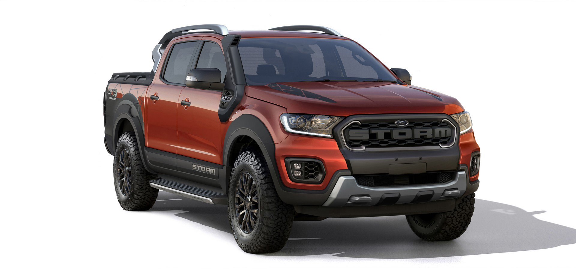 Ford Ranger Storm Concept and Ka Urban Warrior Concept (2)