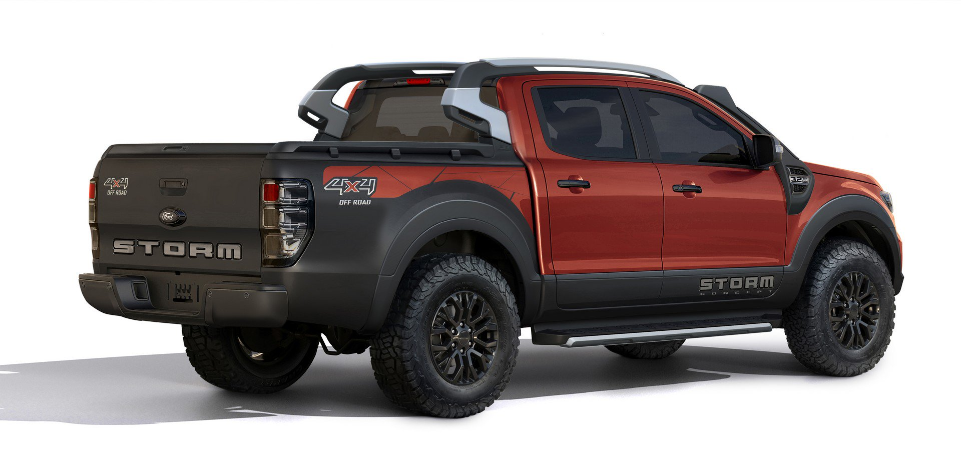 Ford Ranger Storm Concept and Ka Urban Warrior Concept (3)