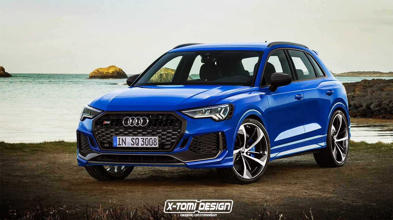 Audi RS Q3 renderings