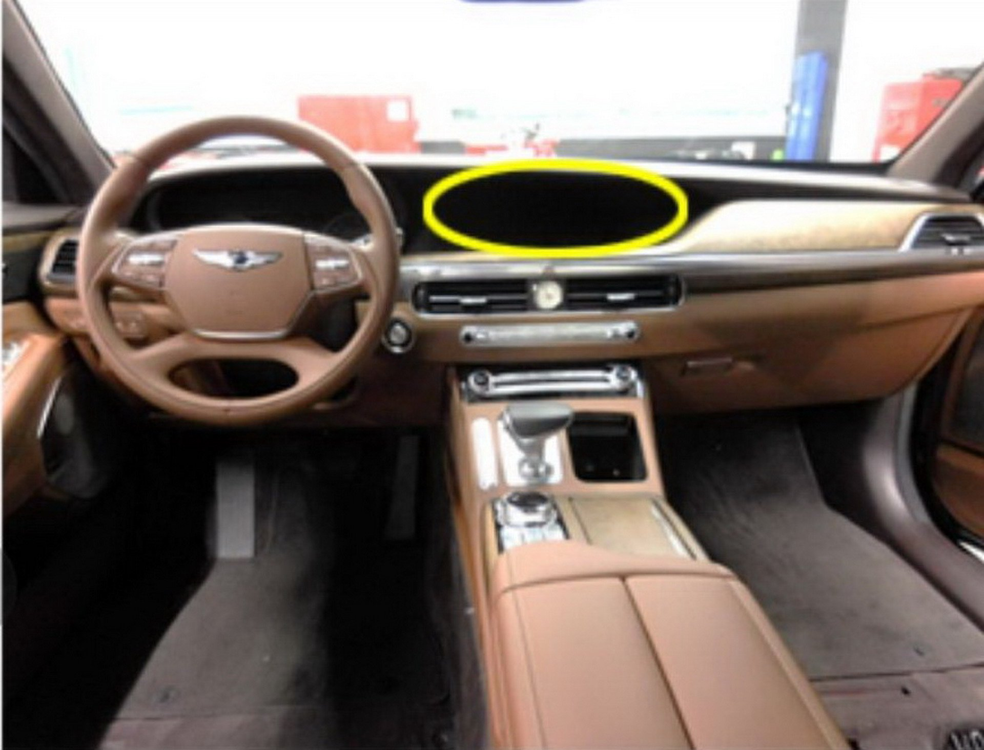 Genesis G90 facelift spy photos (6)