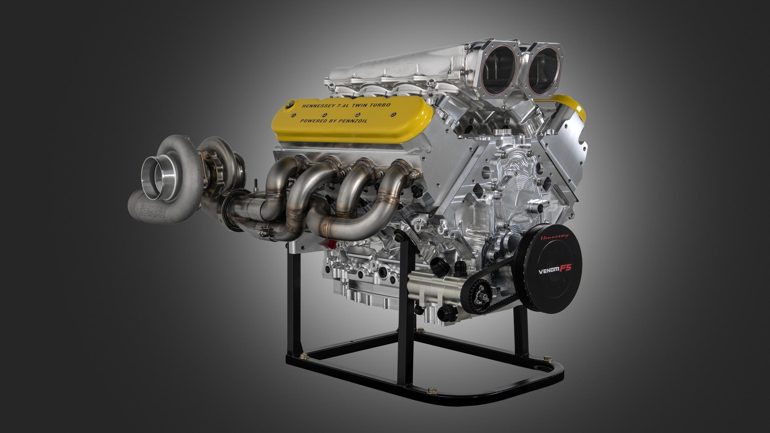Hennessey Venom F5 engine (2)