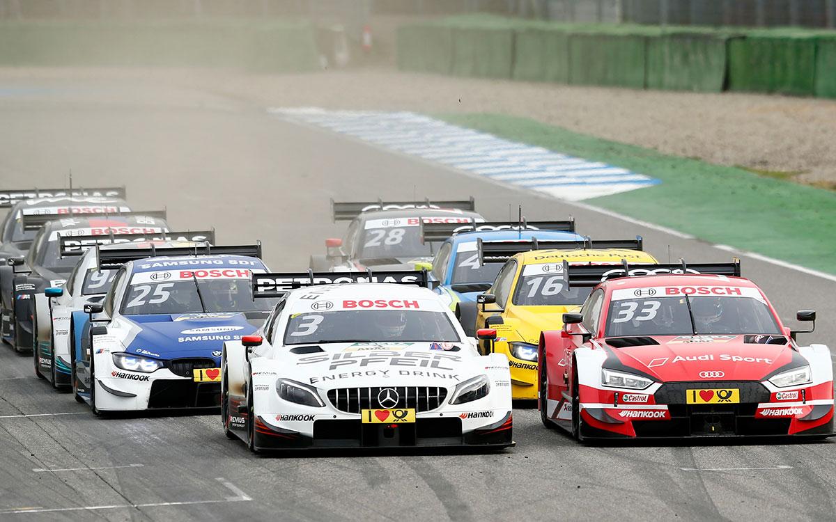 DTM Test Hockenheimring