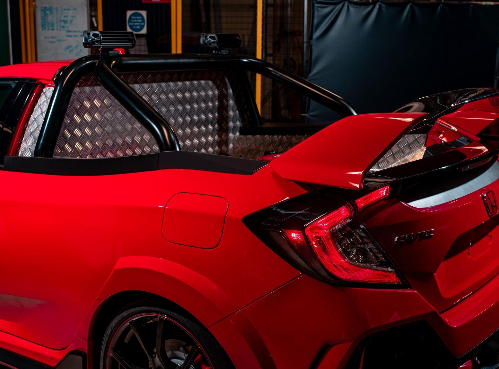 Honda Reveals Civic Type R Pickup Truck concept