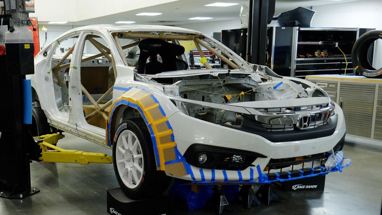 Honda Civic with hybrid powertrain byClemson University (12)