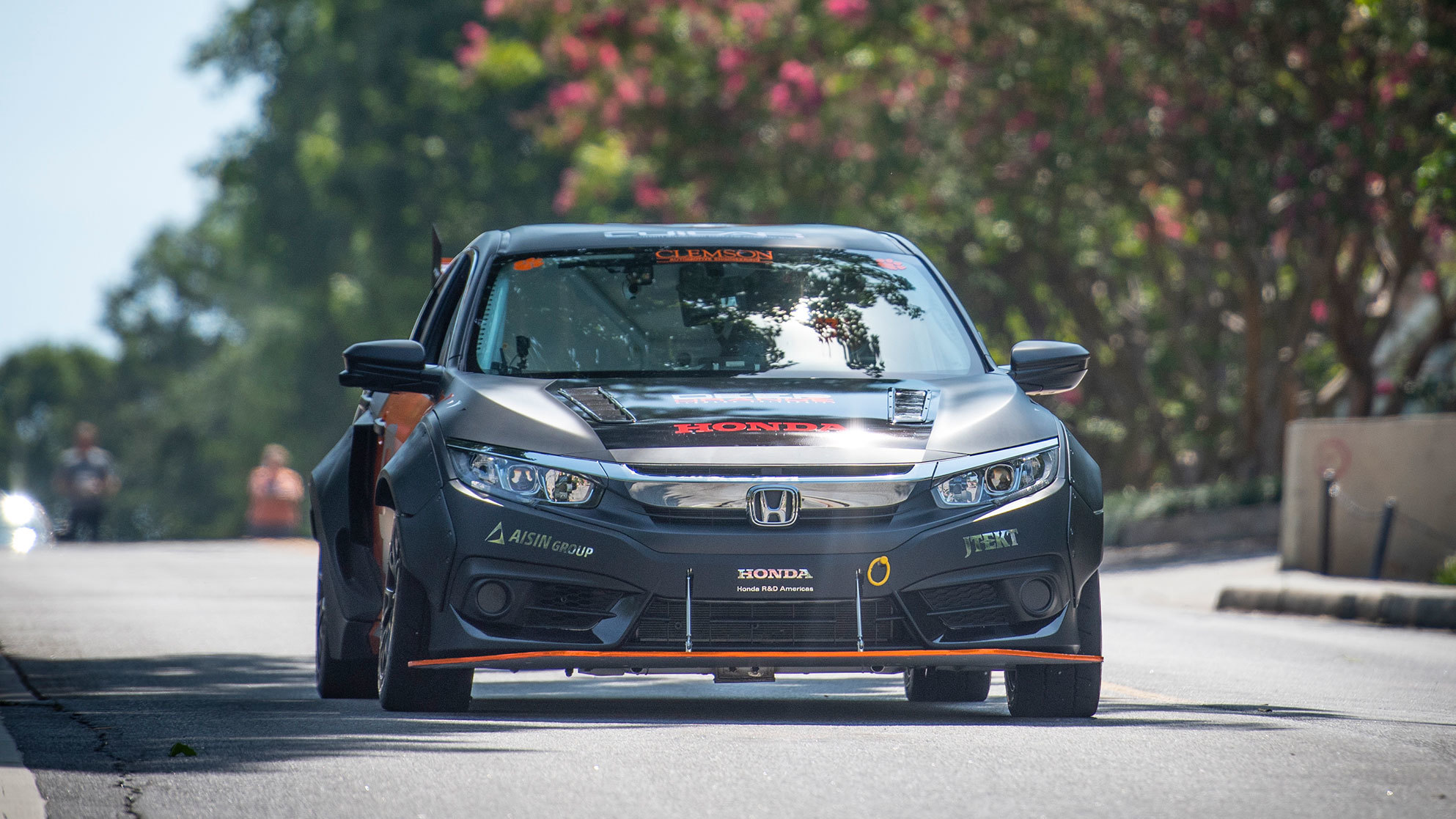 Honda Civic with hybrid powertrain by Clemson University (5)