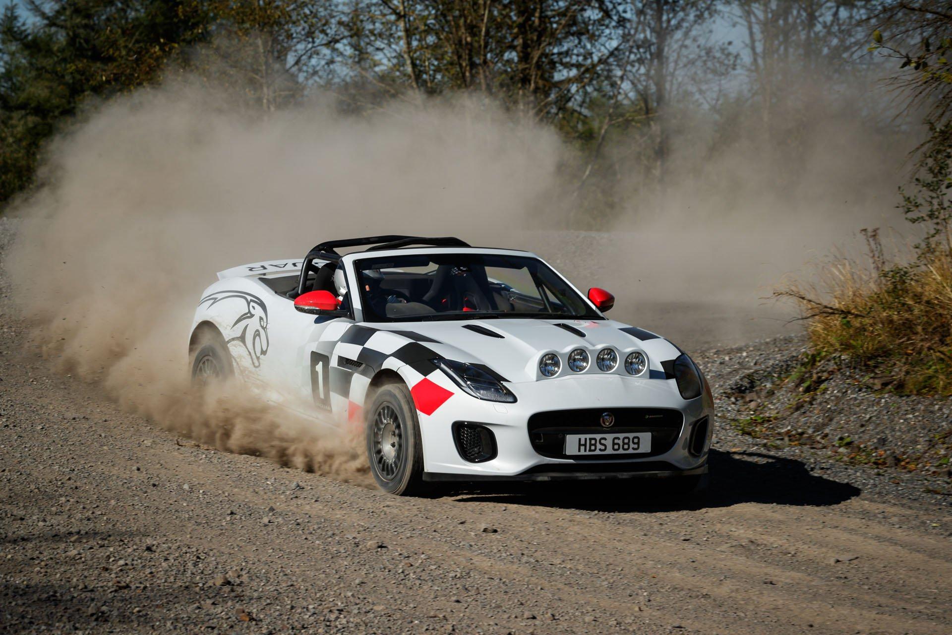Jaguar F-Type Convertible Rally (6)